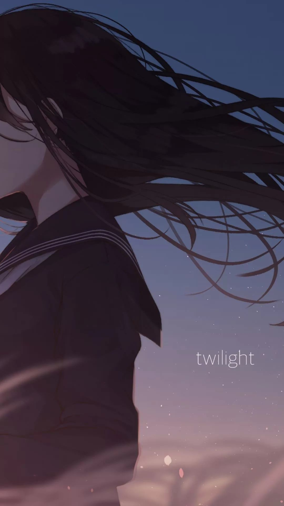 Sad Anime iPhone 8 plus wallpaper
