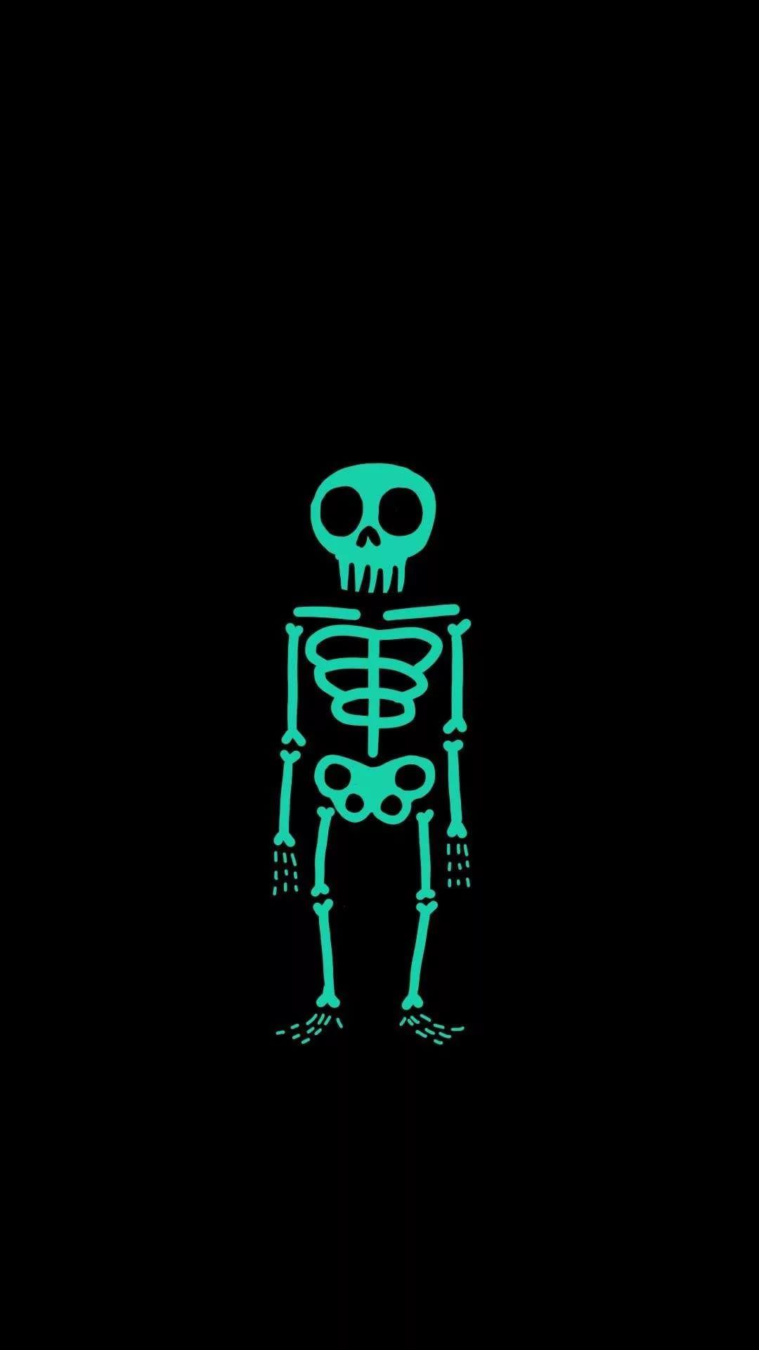 Skeleton iPhone 7 Wallpaper