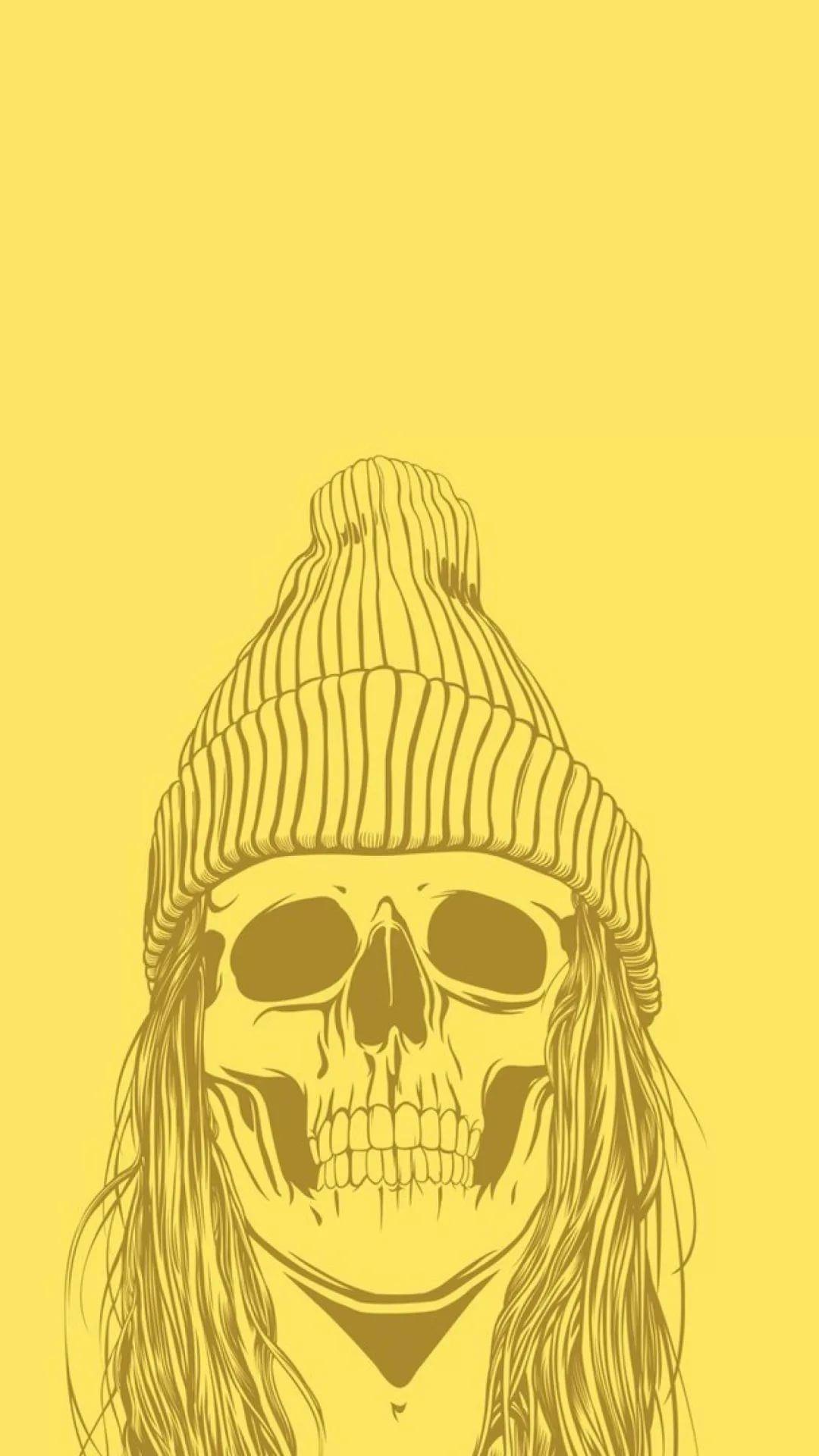 Skeleton iPhone 6s wallpaper