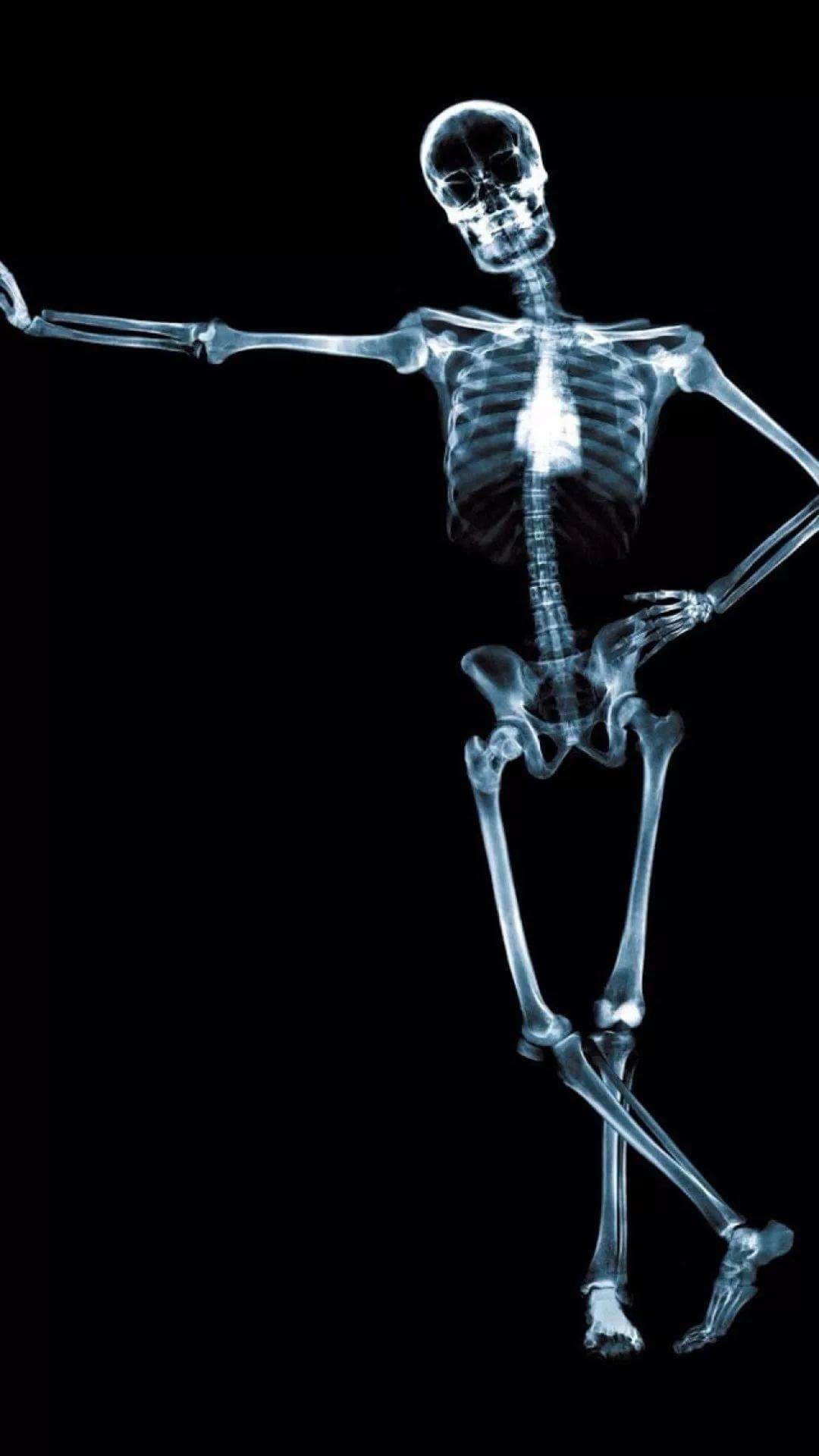 Картинка смешной скелет