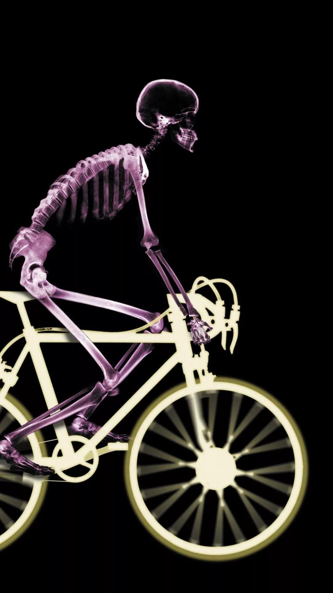 Skeleton iPhone x wallpaper
