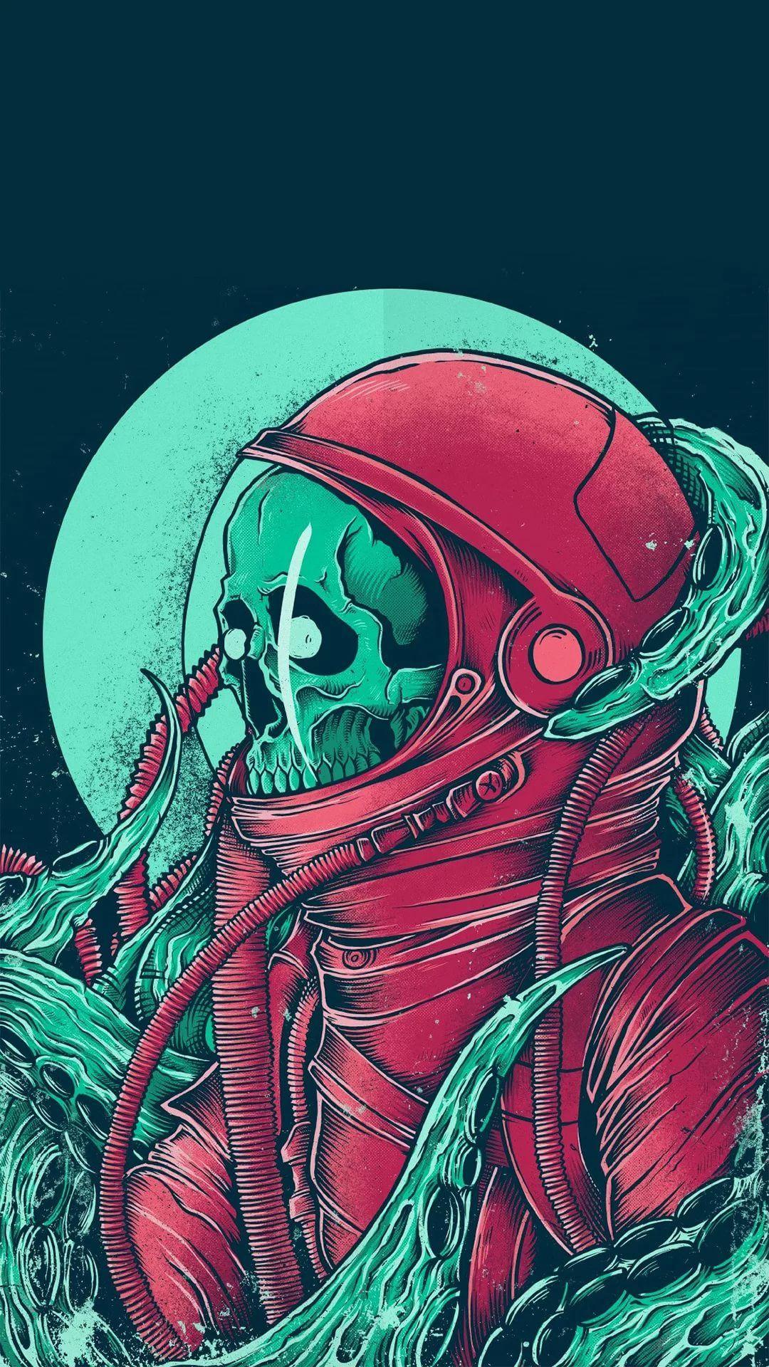 Skeleton wallpaper for Android