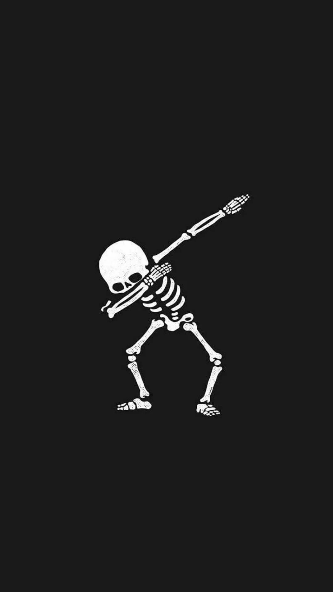 Skeleton iPhone wallpaper high quality