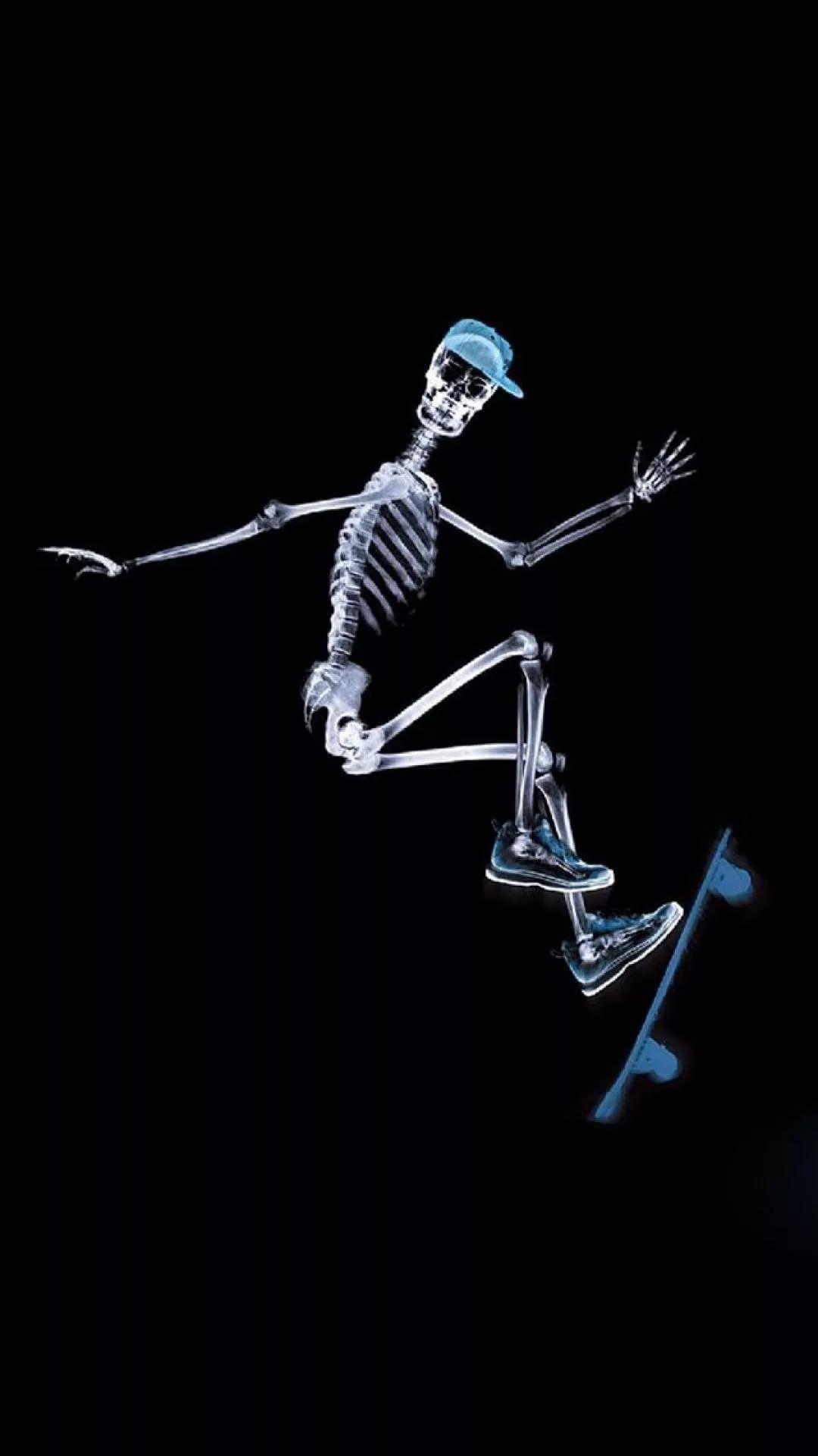 Skeleton iPhone Wallpapers (40+ images) - WallpaperBoat