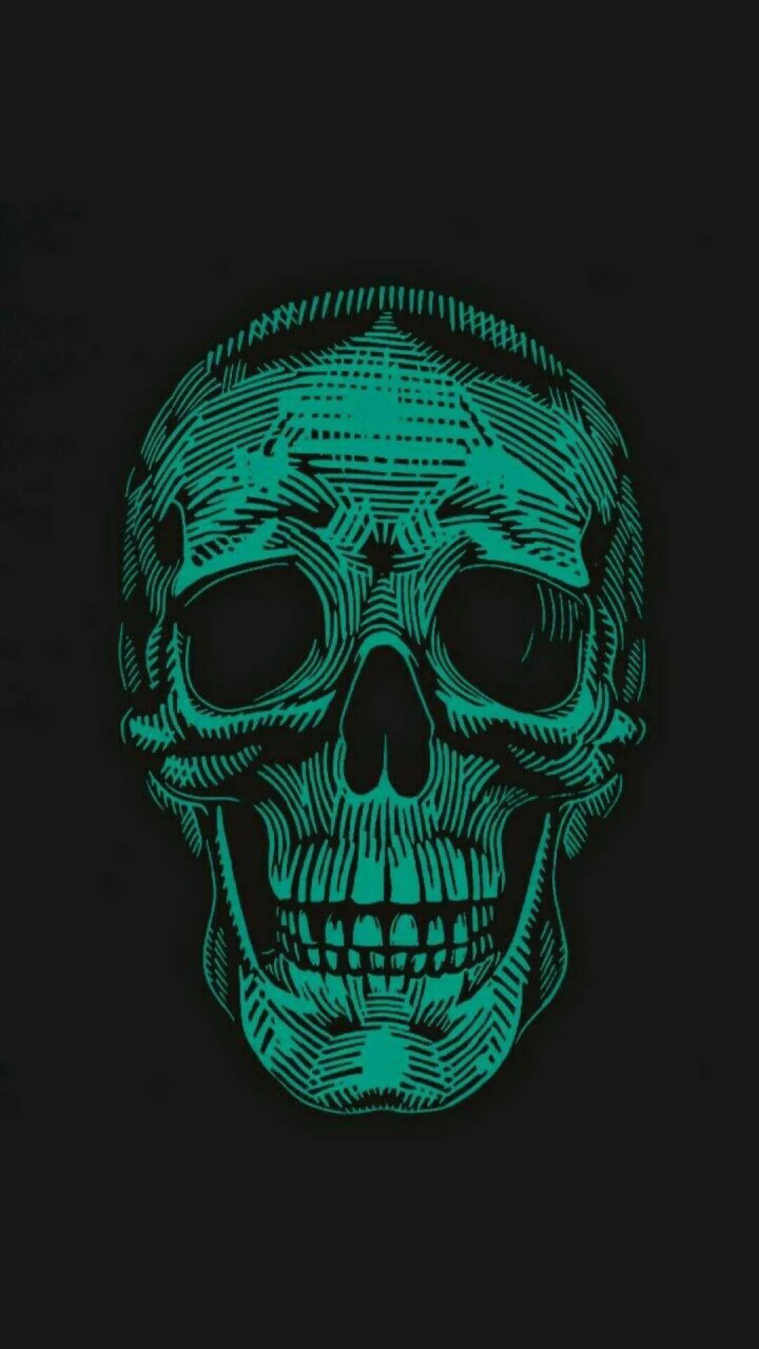Skeleton iPhone xs wallpaper