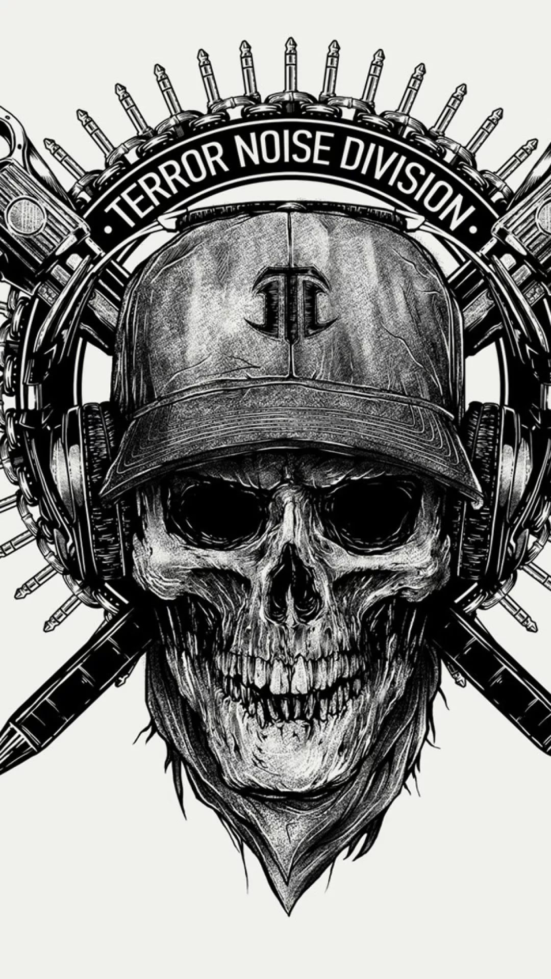 Skeleton wallpaper iPhone 5