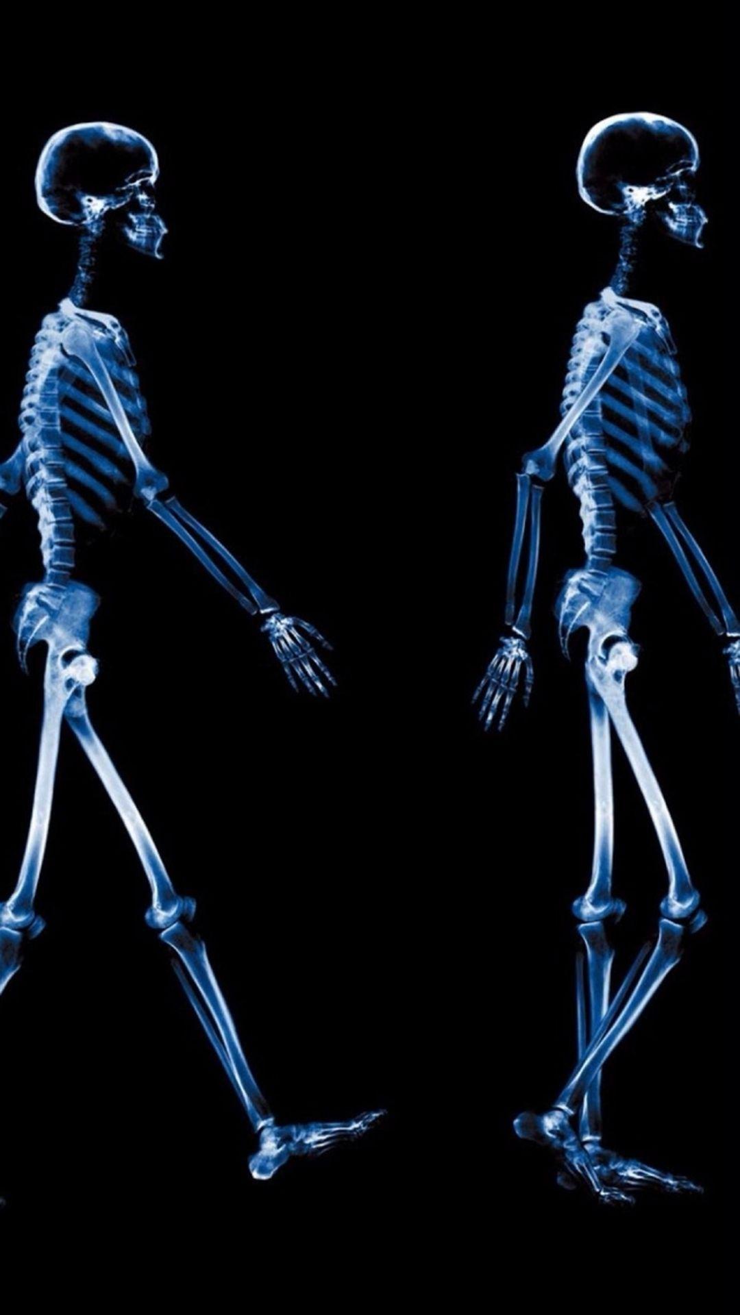 Skeleton Galaxy Wallpaper