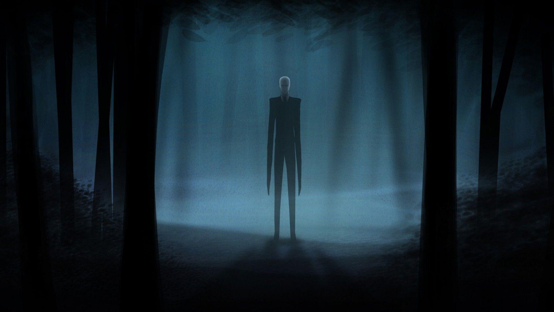 Slender Man, Photo Slender download wallpaper