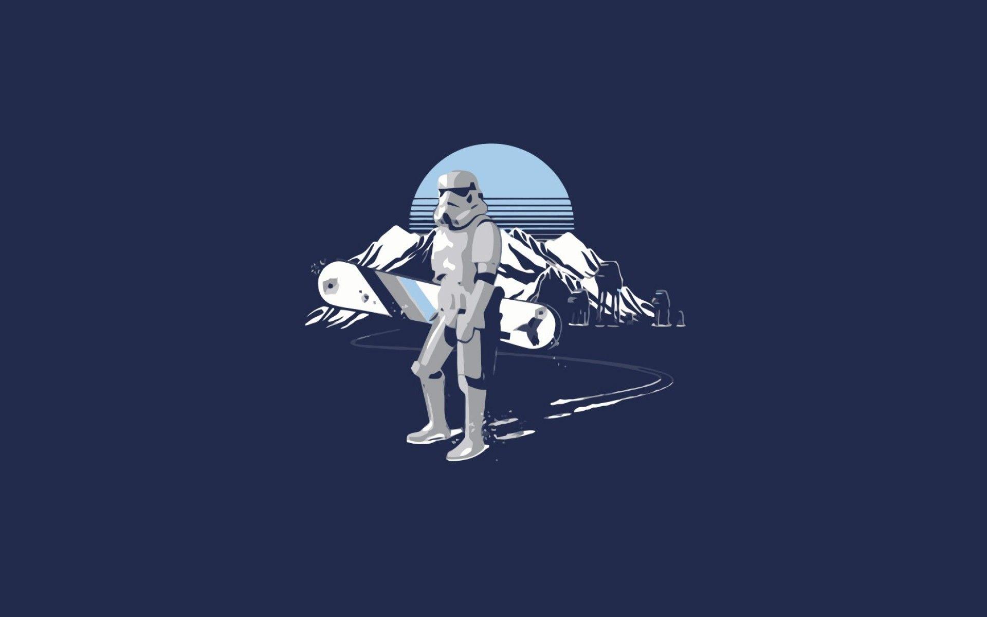 Star Wars Minimalist new wallpaper