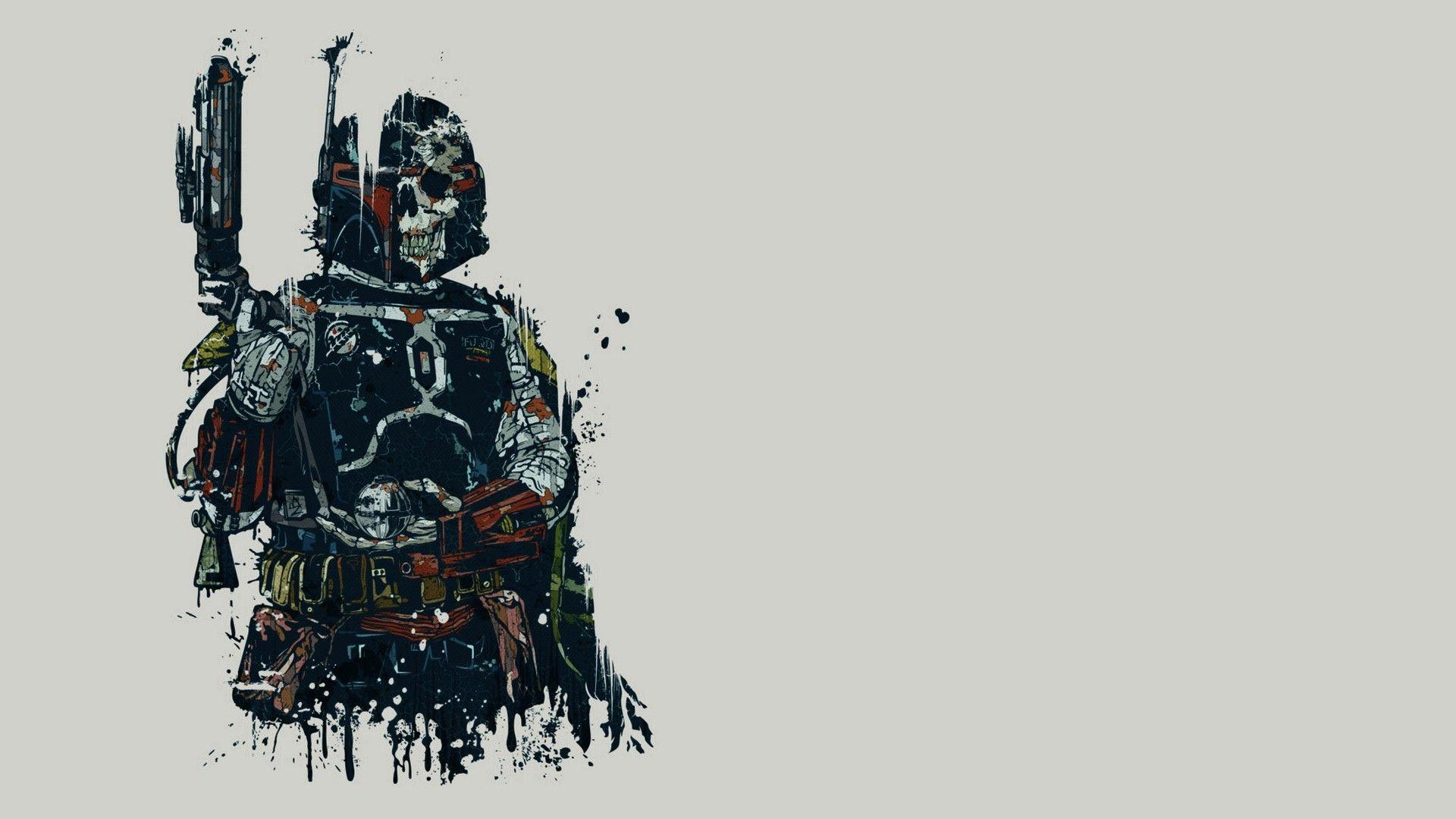 Star Wars Minimalist Free Desktop Wallpaper