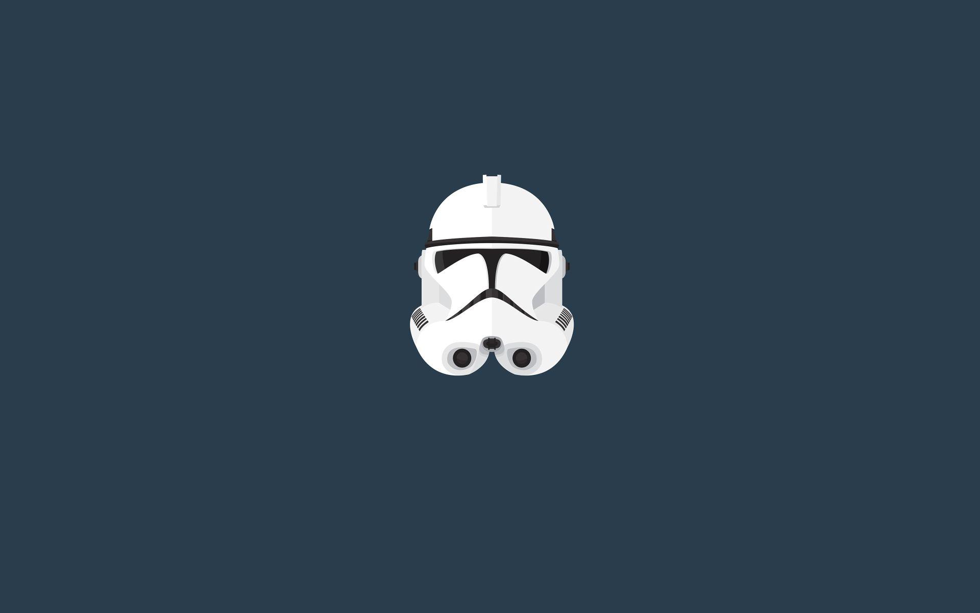 Star Wars Minimalist screen wallpaper