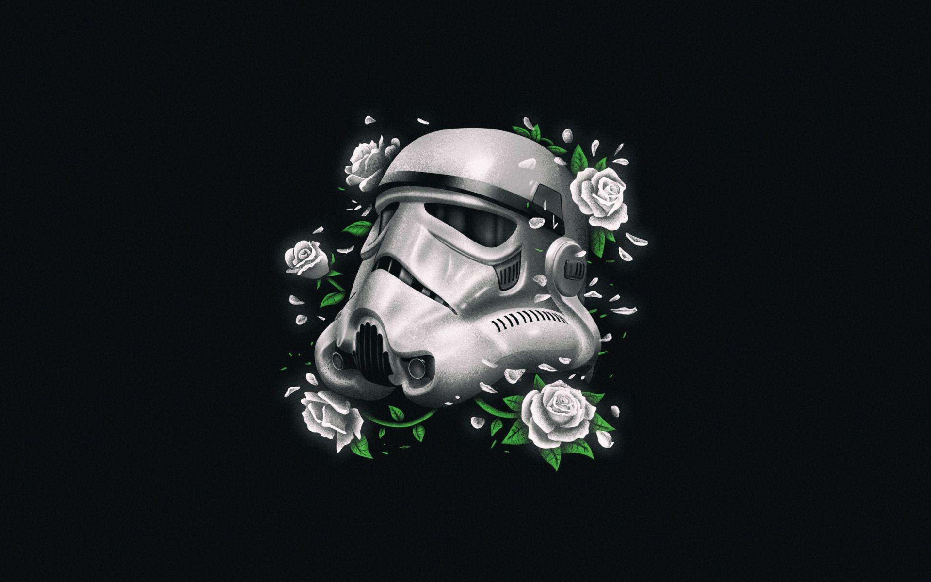 Star Wars Minimalist wallpaper theme
