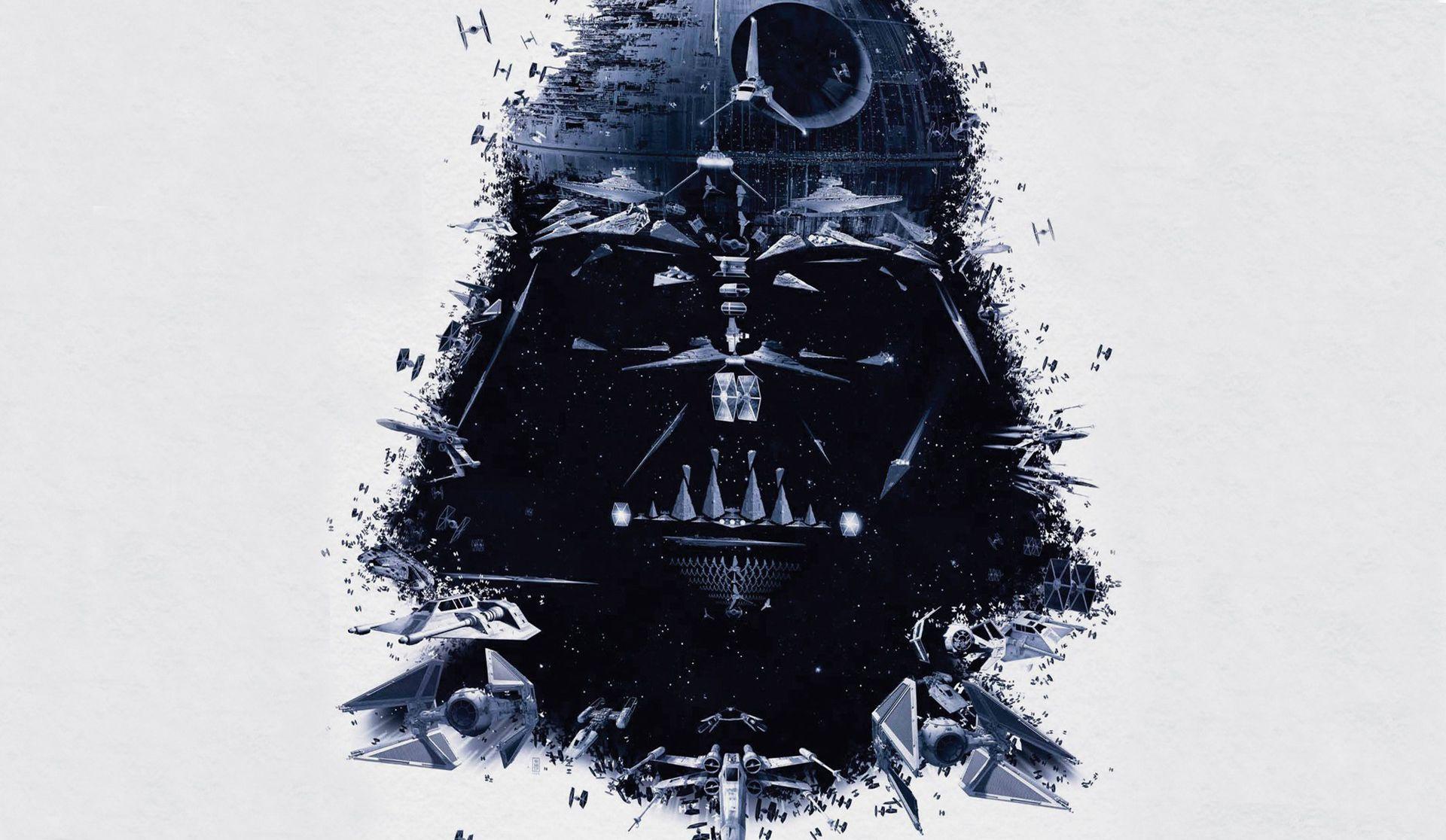 Star Wars Minimalist hd wallpaper 1080