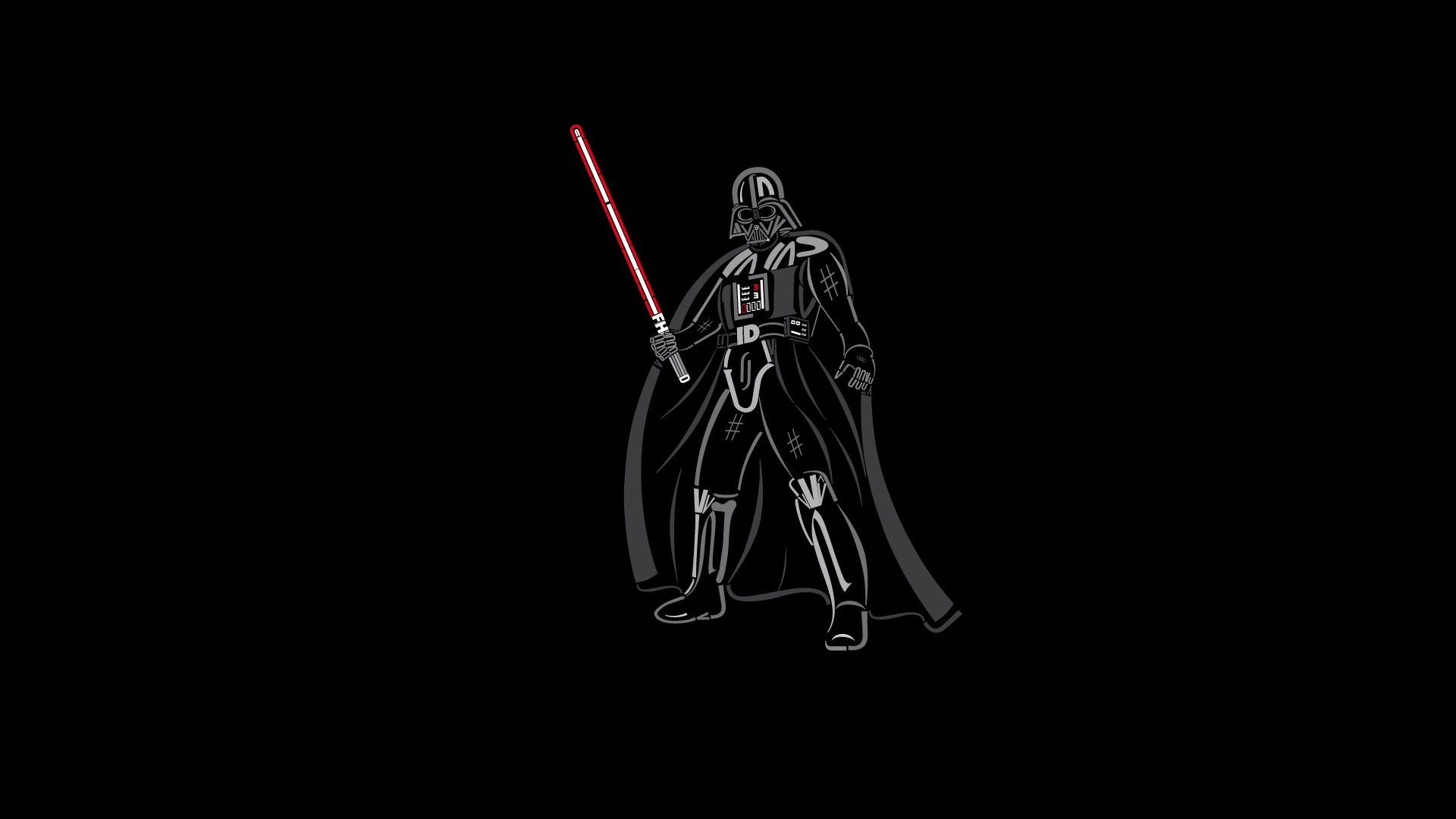 Star Wars Minimalist download free wallpapers for pc in hd