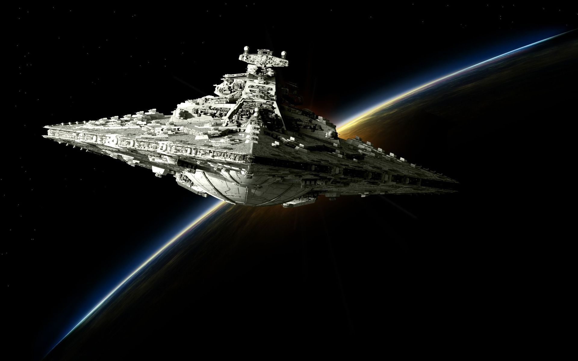 Star Wars Screensaver full screen hd wallpaper