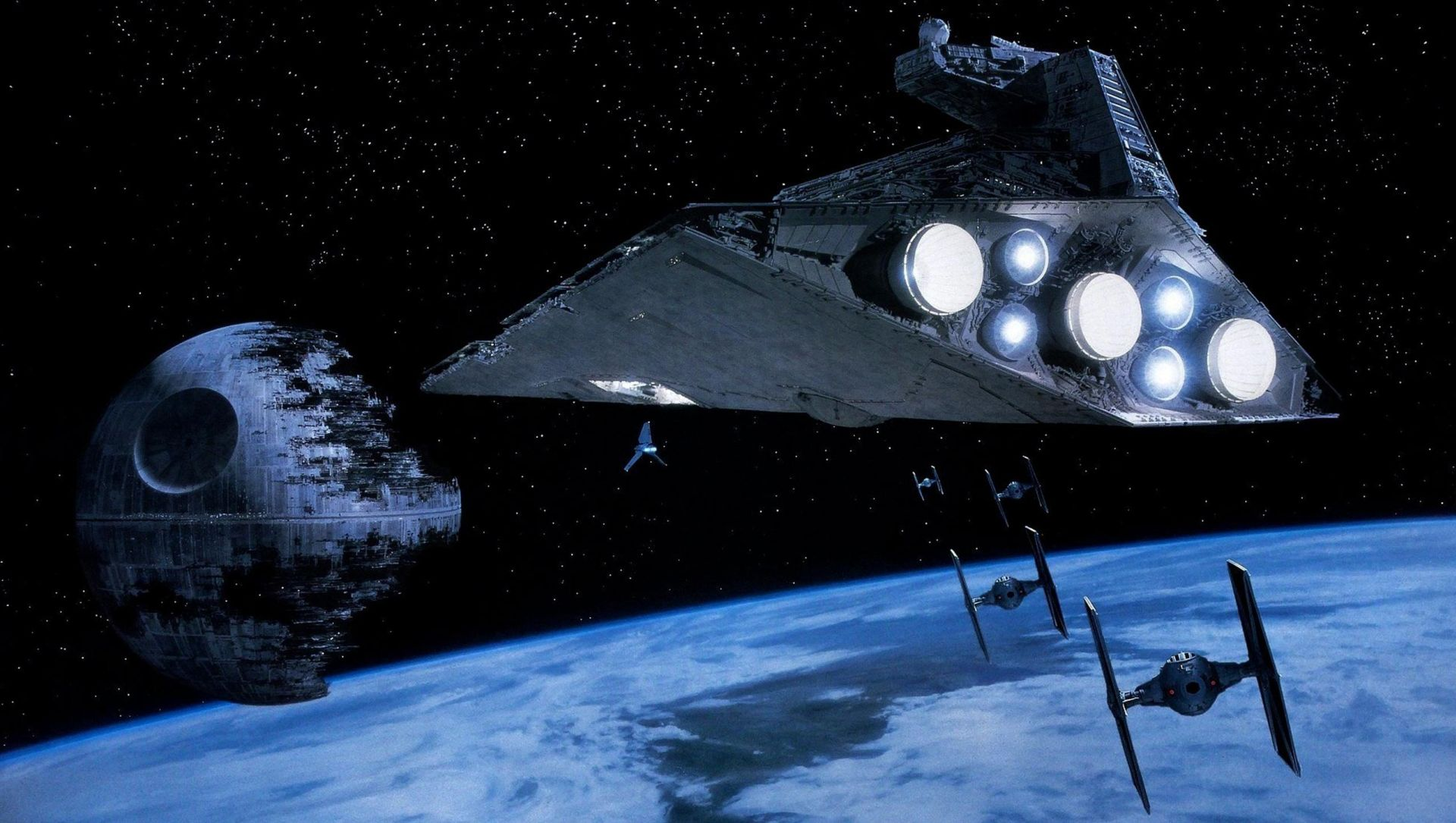 Star Wars Screensaver HD 1080 wallpaper