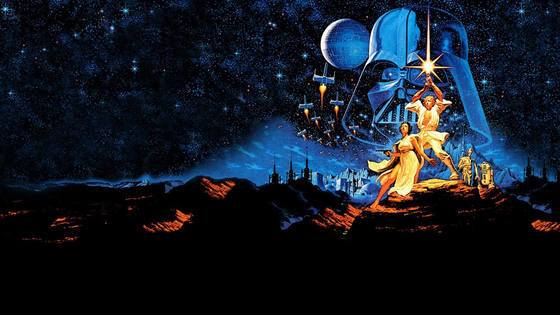 Star Wars Screensaver Background Wallpaper