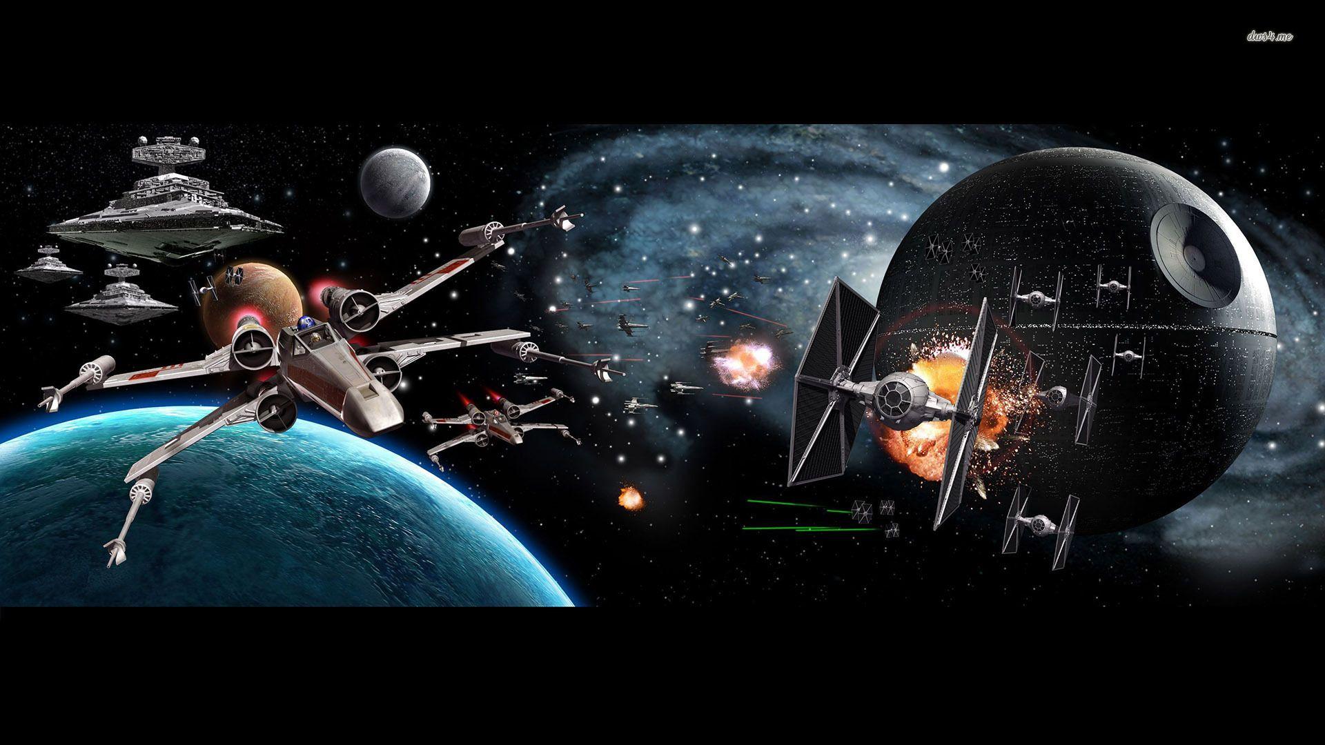 Star Wars Screensaver free download wallpaper