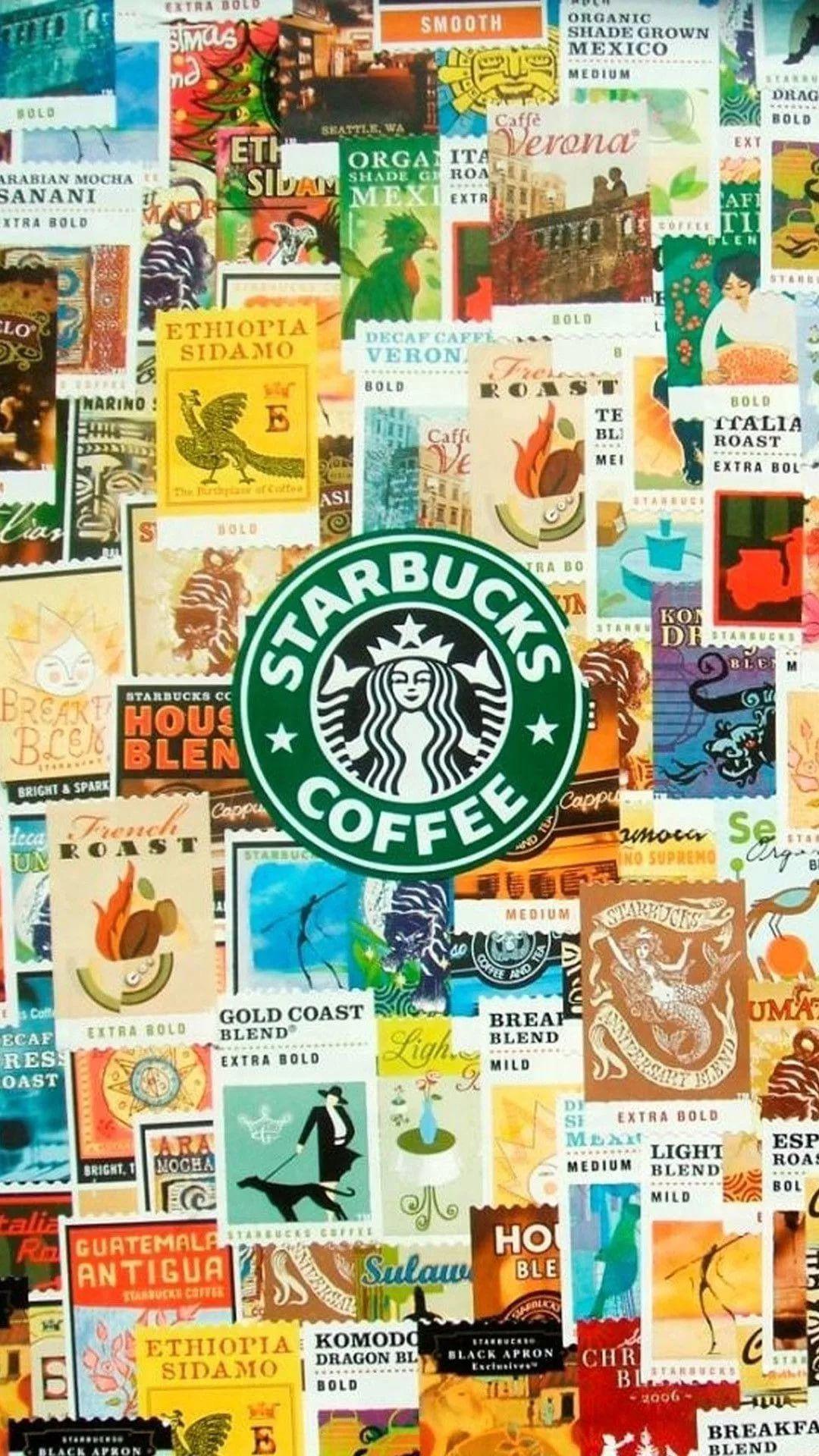 Starbucks iPhone 8 wallpaper