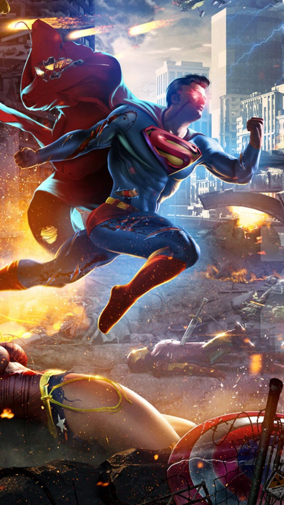 Superman Samsung Galaxy wallpaper