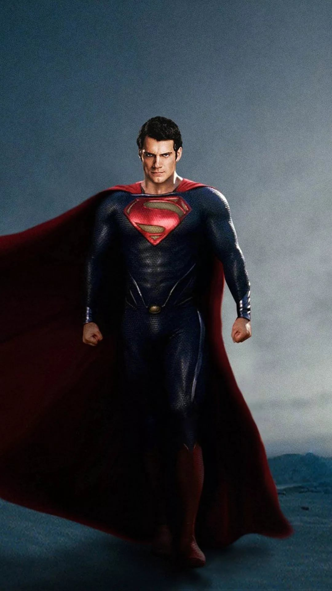 Superman iPhone wallpaper size