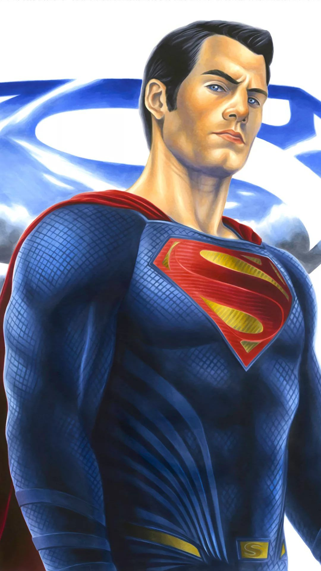 Superman iPhone xs wallpaper download