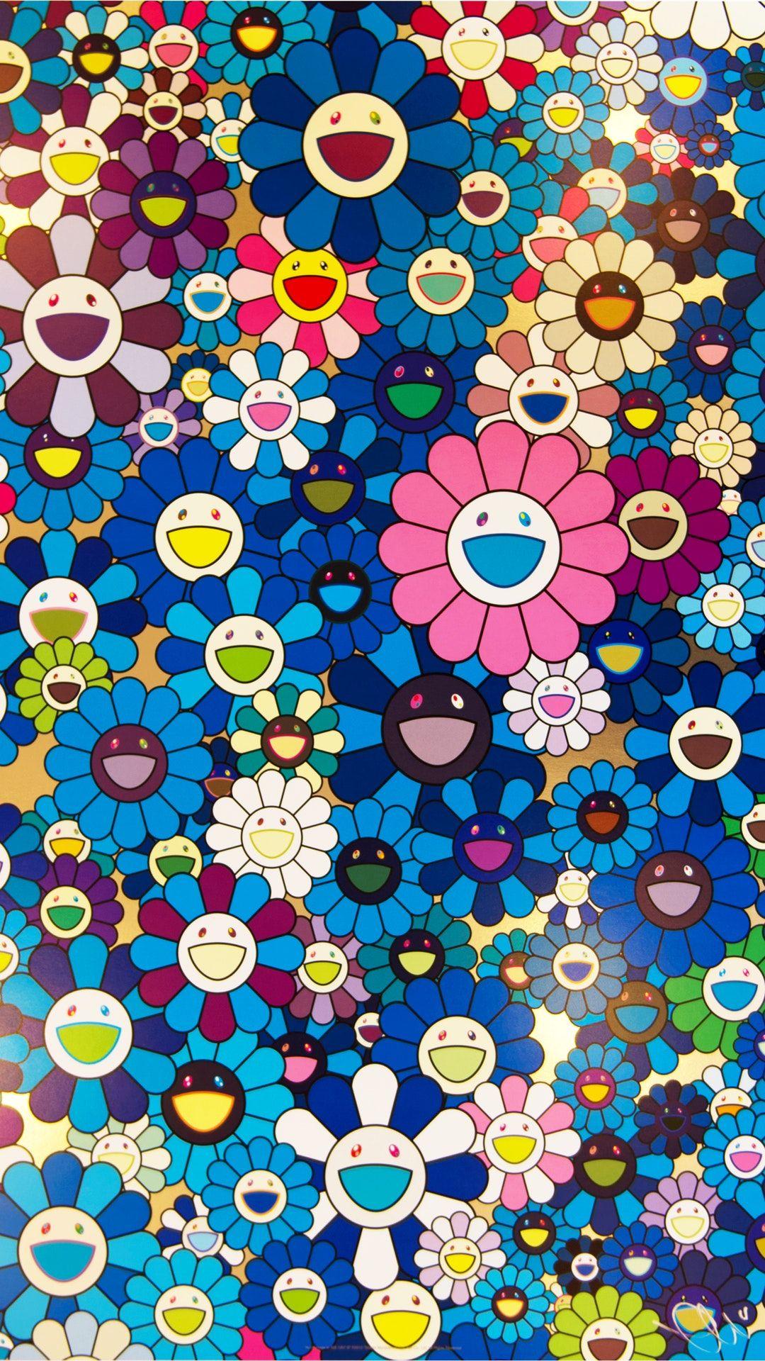 Takashi Murakami Phone Wallpapers Wallpaperboat