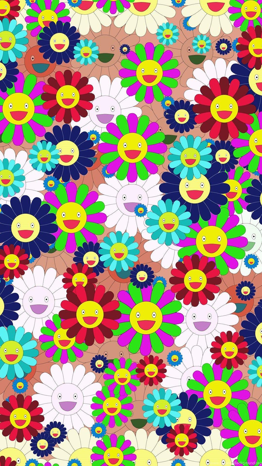 Takashi Murakami iPhone 5s wallpaper