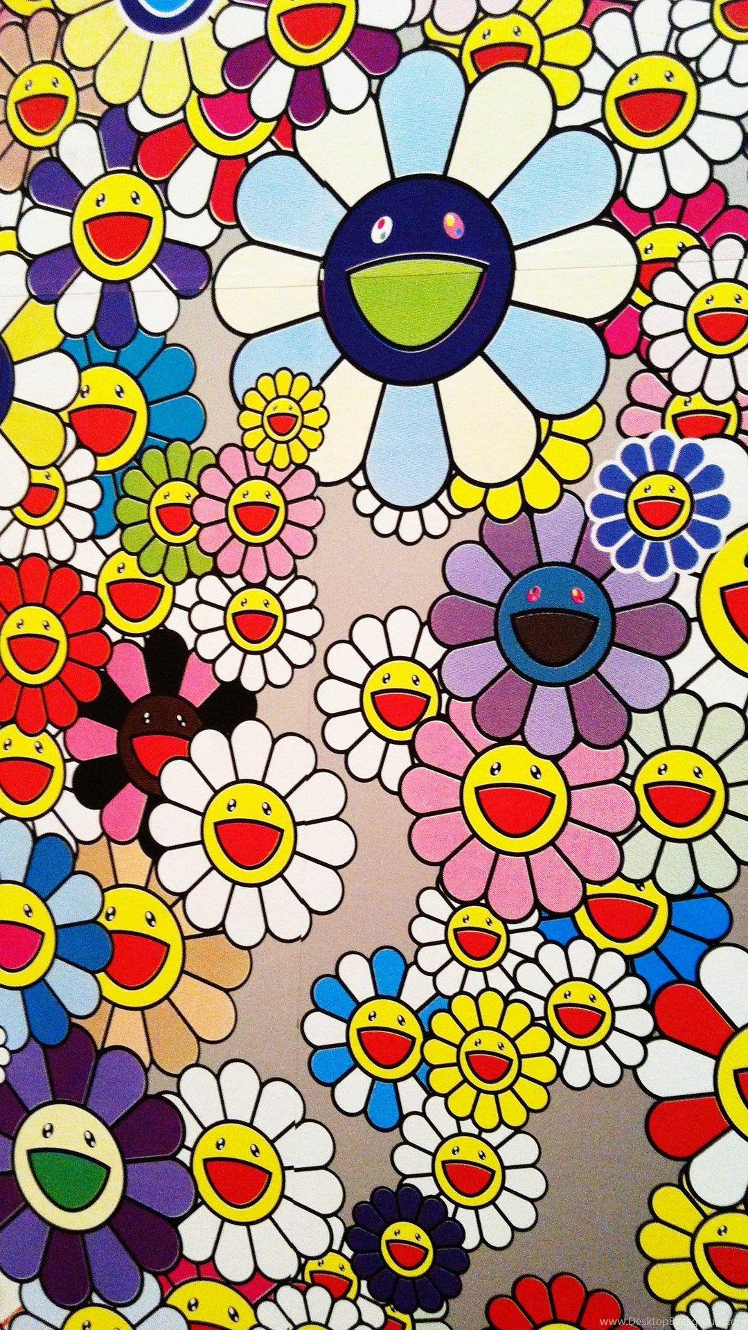 Takashi Murakami iPhone wallpaper high quality