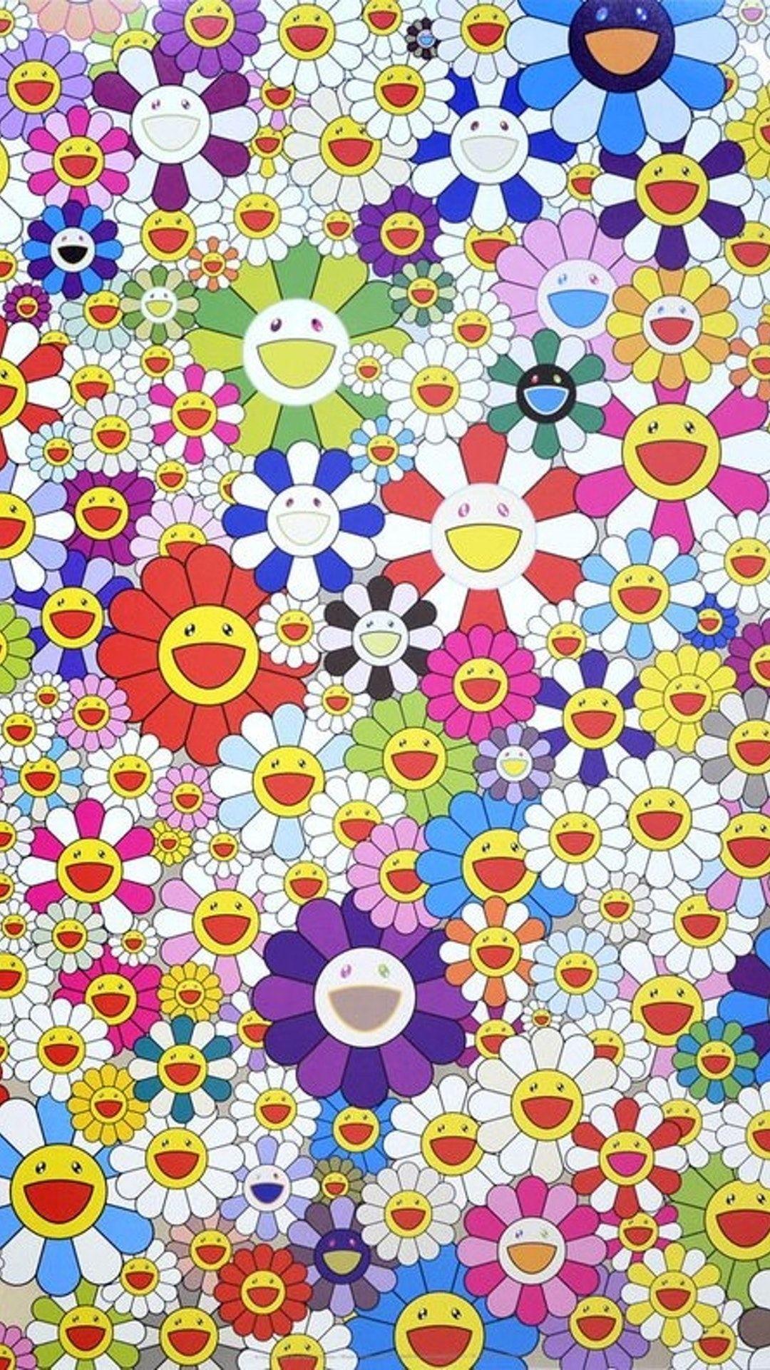Takashi Murakami phone Wallpapers: 20+ Images - Wallpaperboat