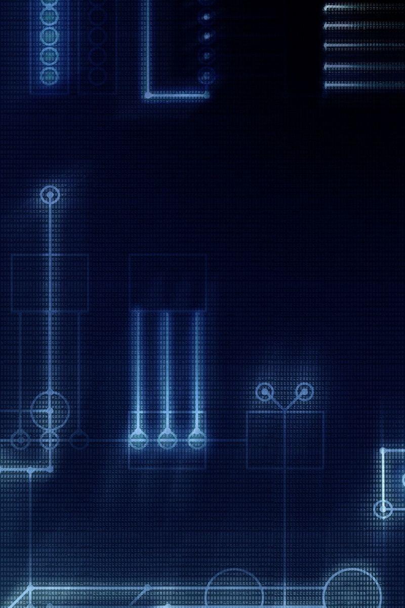 Tech Galaxy Wallpaper