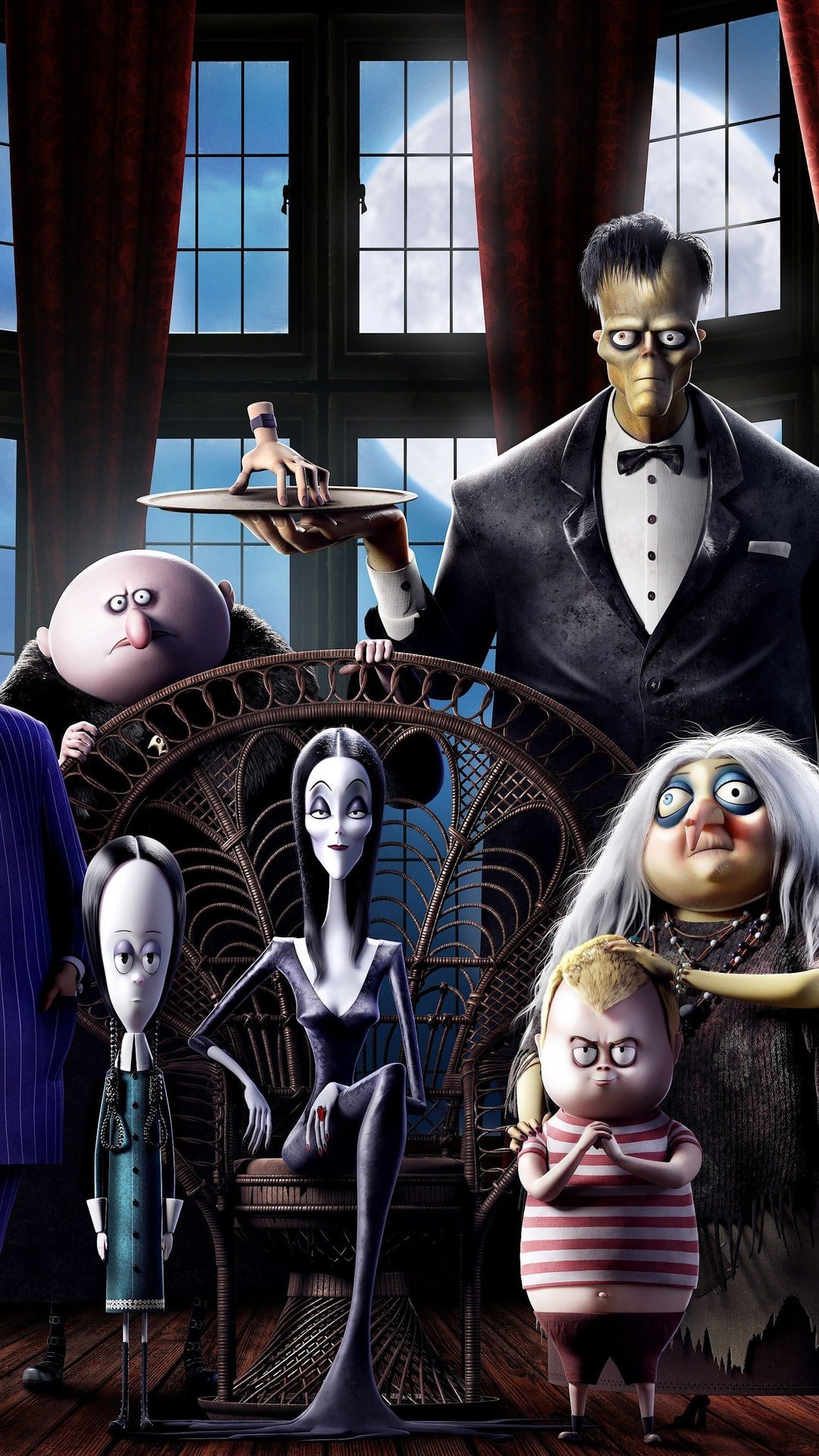 The Addams Family Cartoon wallpaper