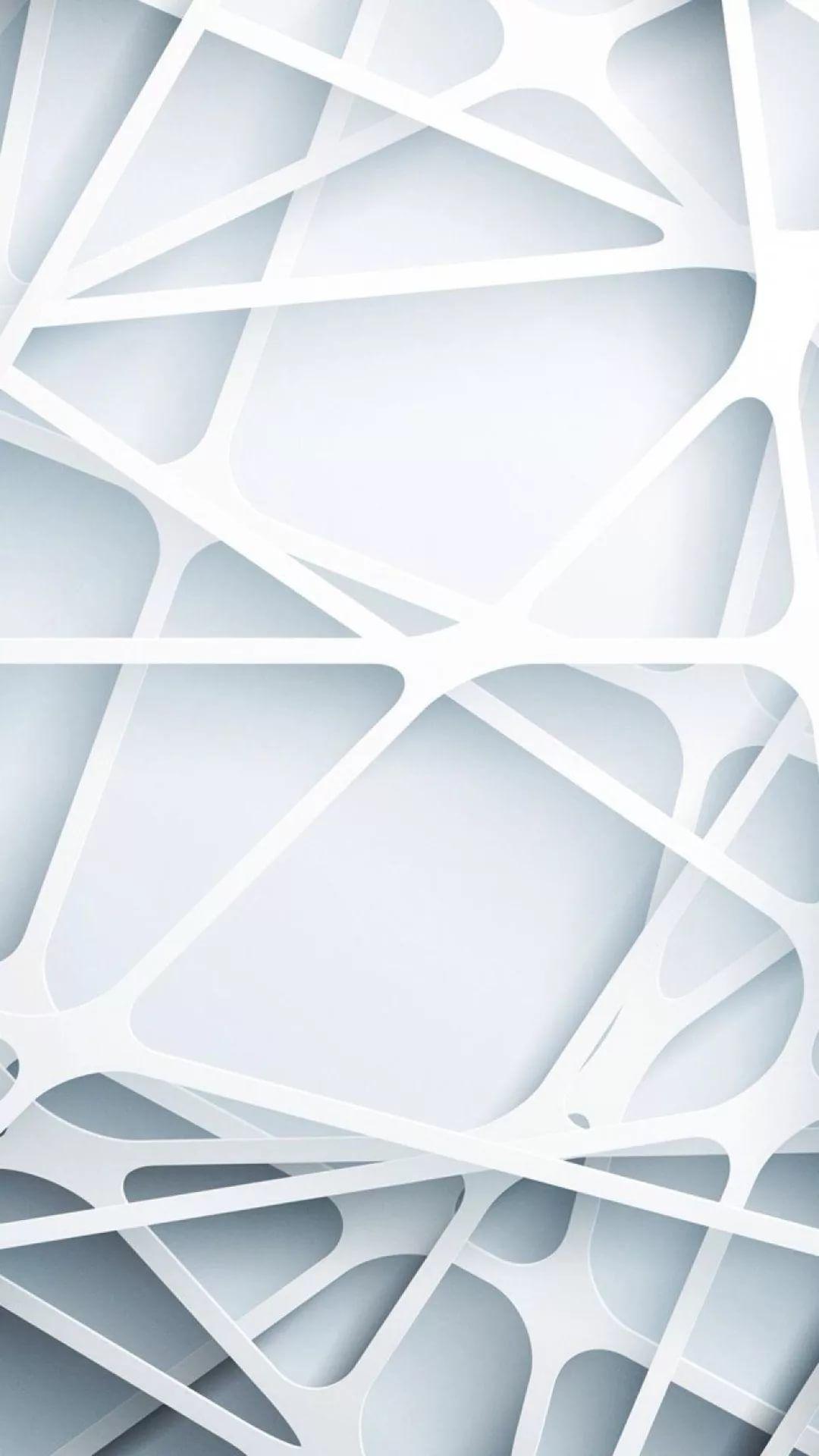 White HD wallpaper for mobile