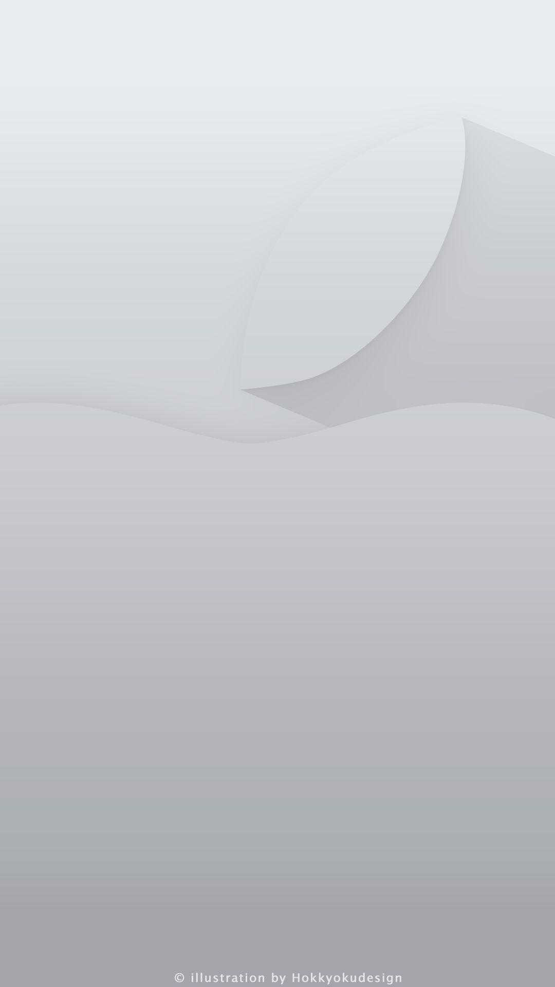 White iOS 7 wallpaper