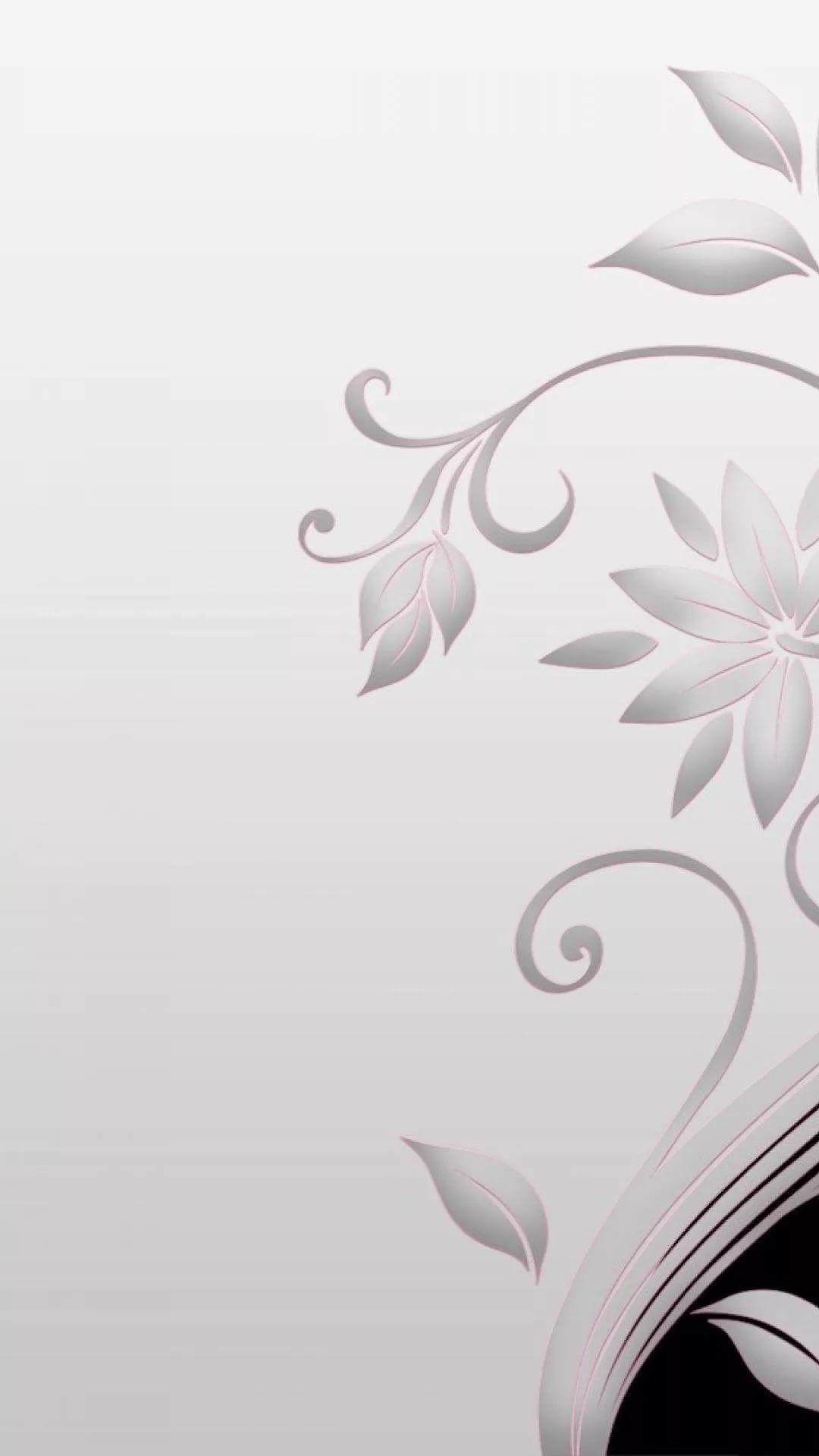 White iOS 11 wallpaper