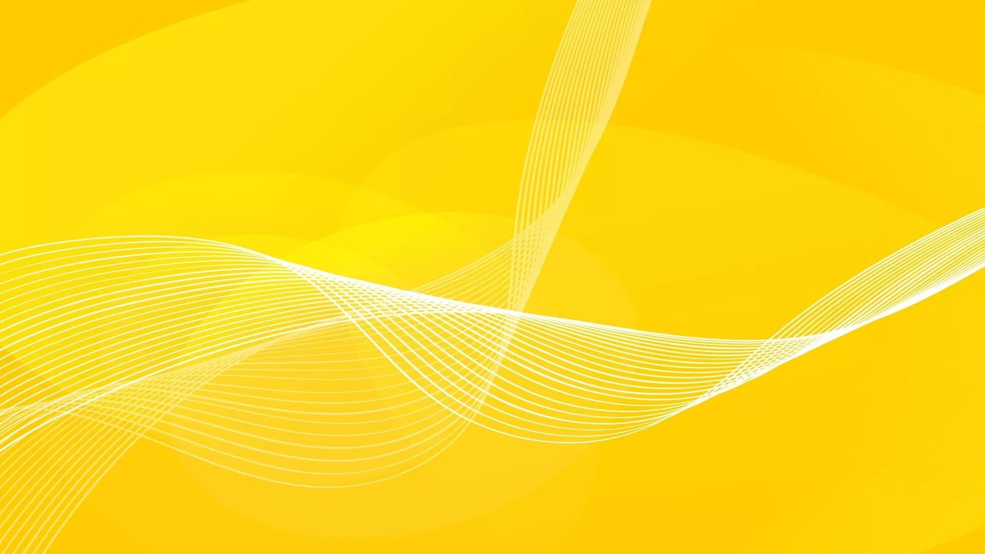 Yellow Abstract Image