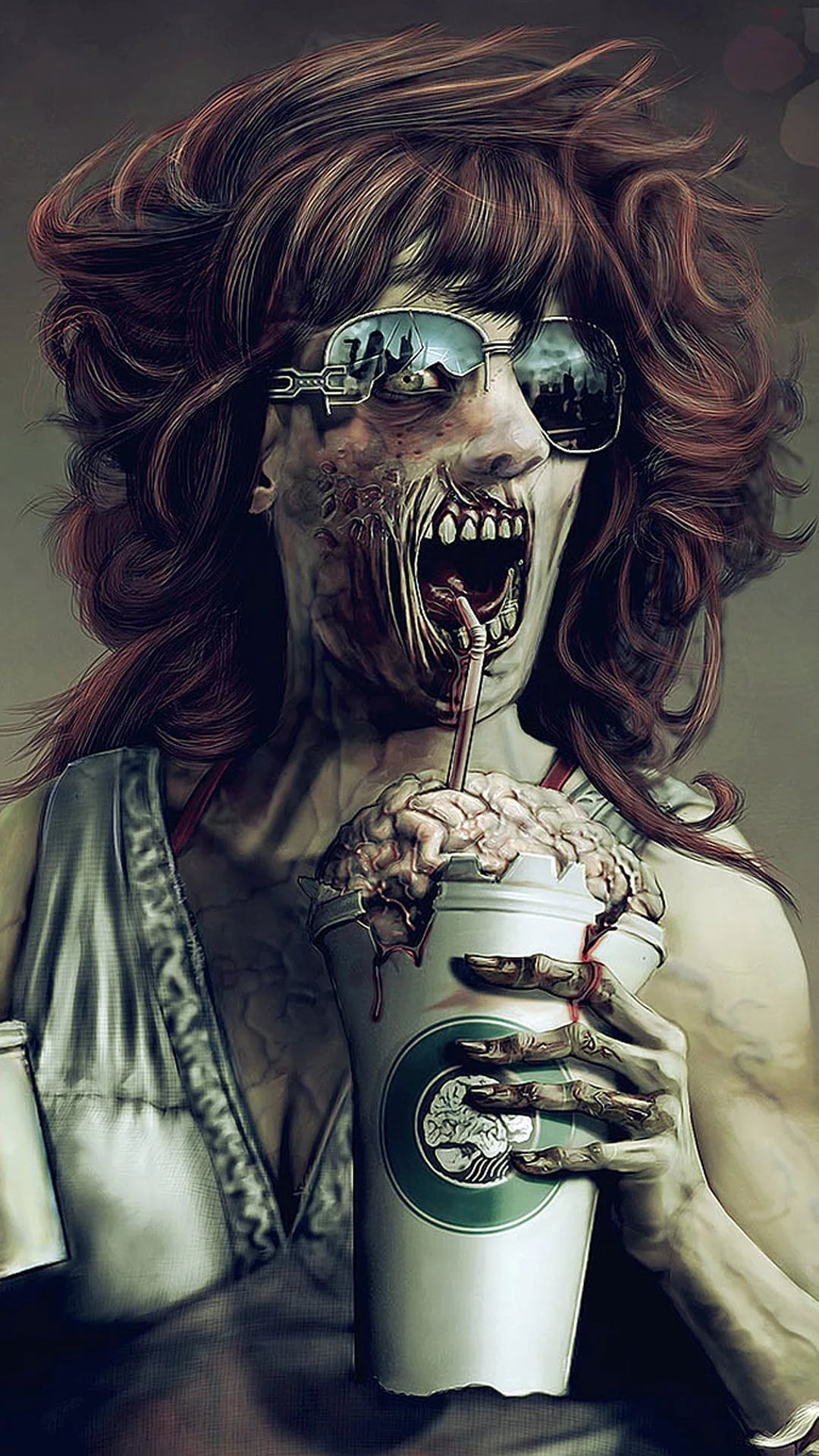 Zombie Galaxy s7 wallpaper
