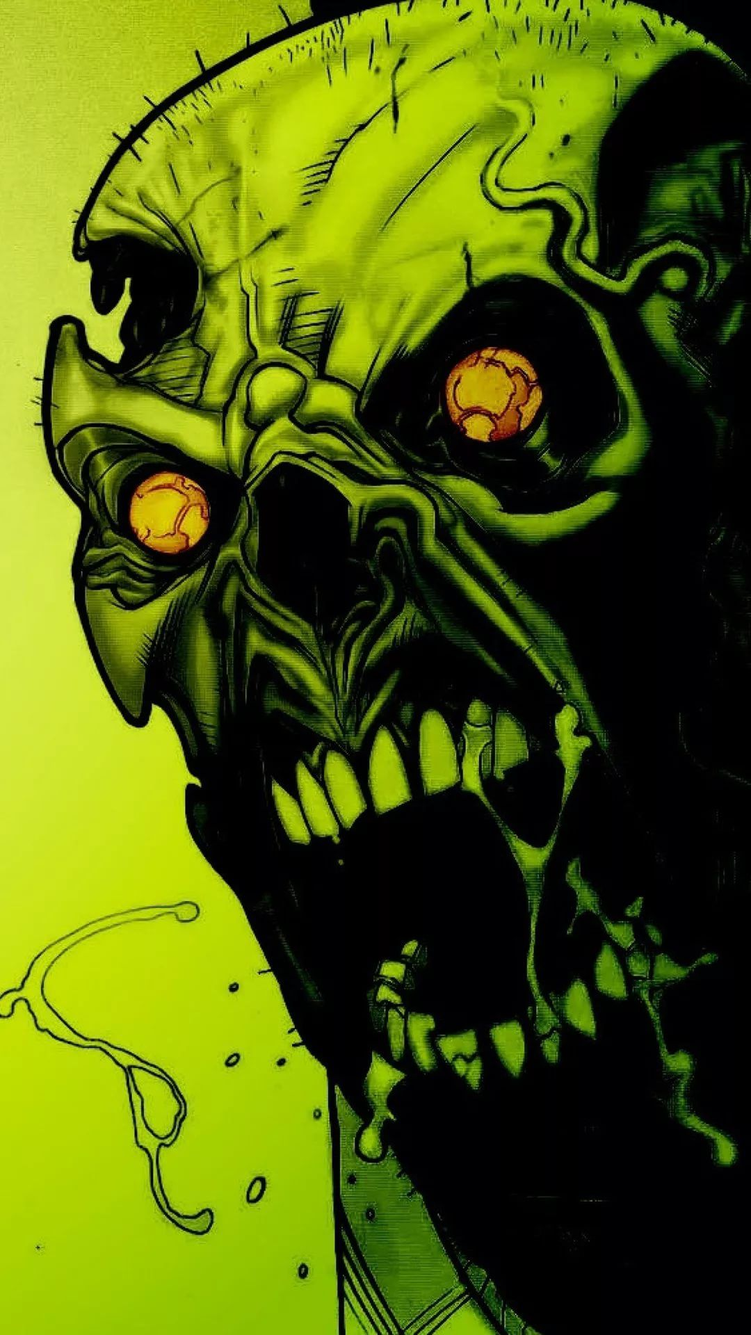 Zombie iPhone 6s wallpaper