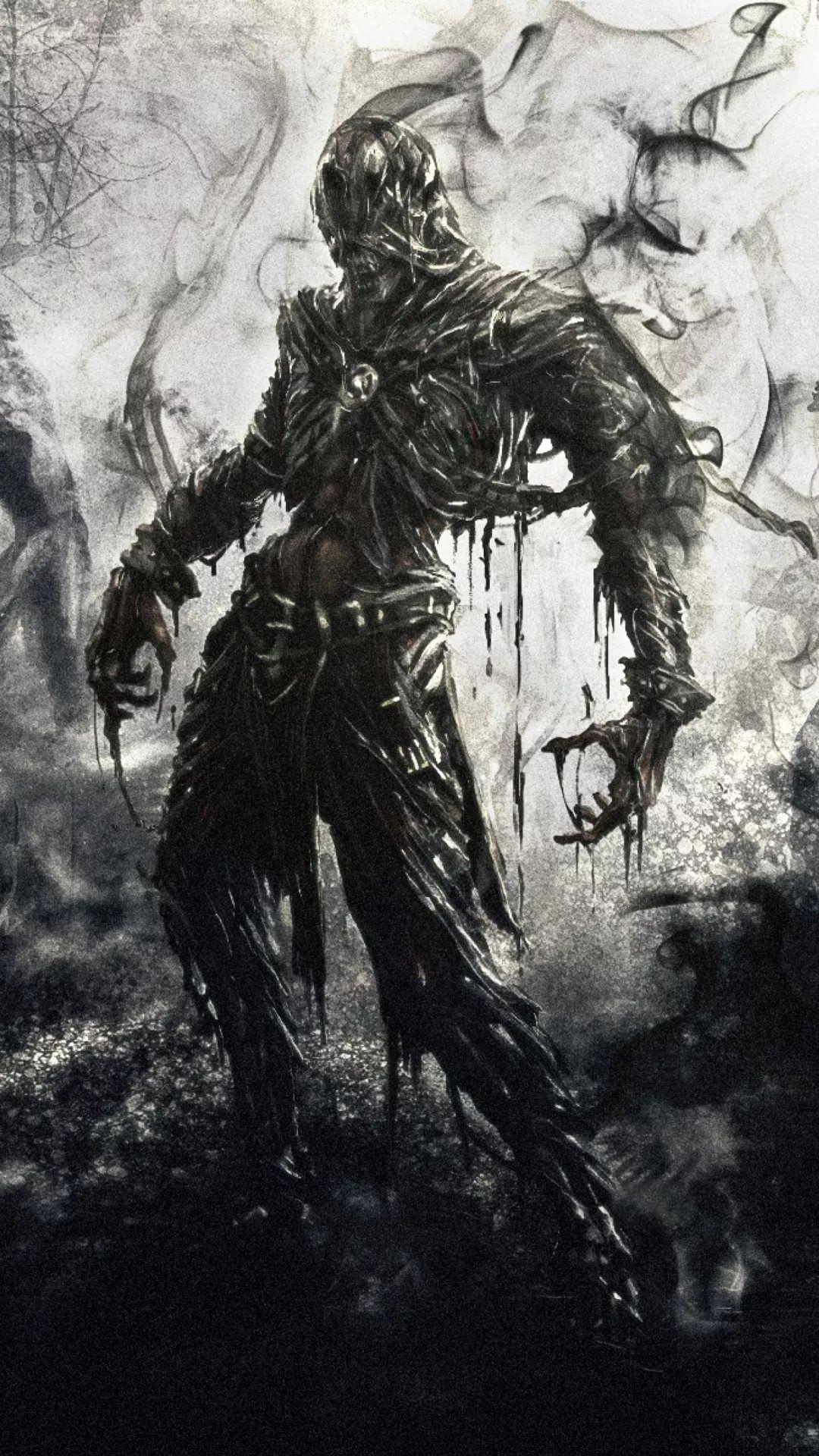 Zombie Galaxy s9 wallpaper