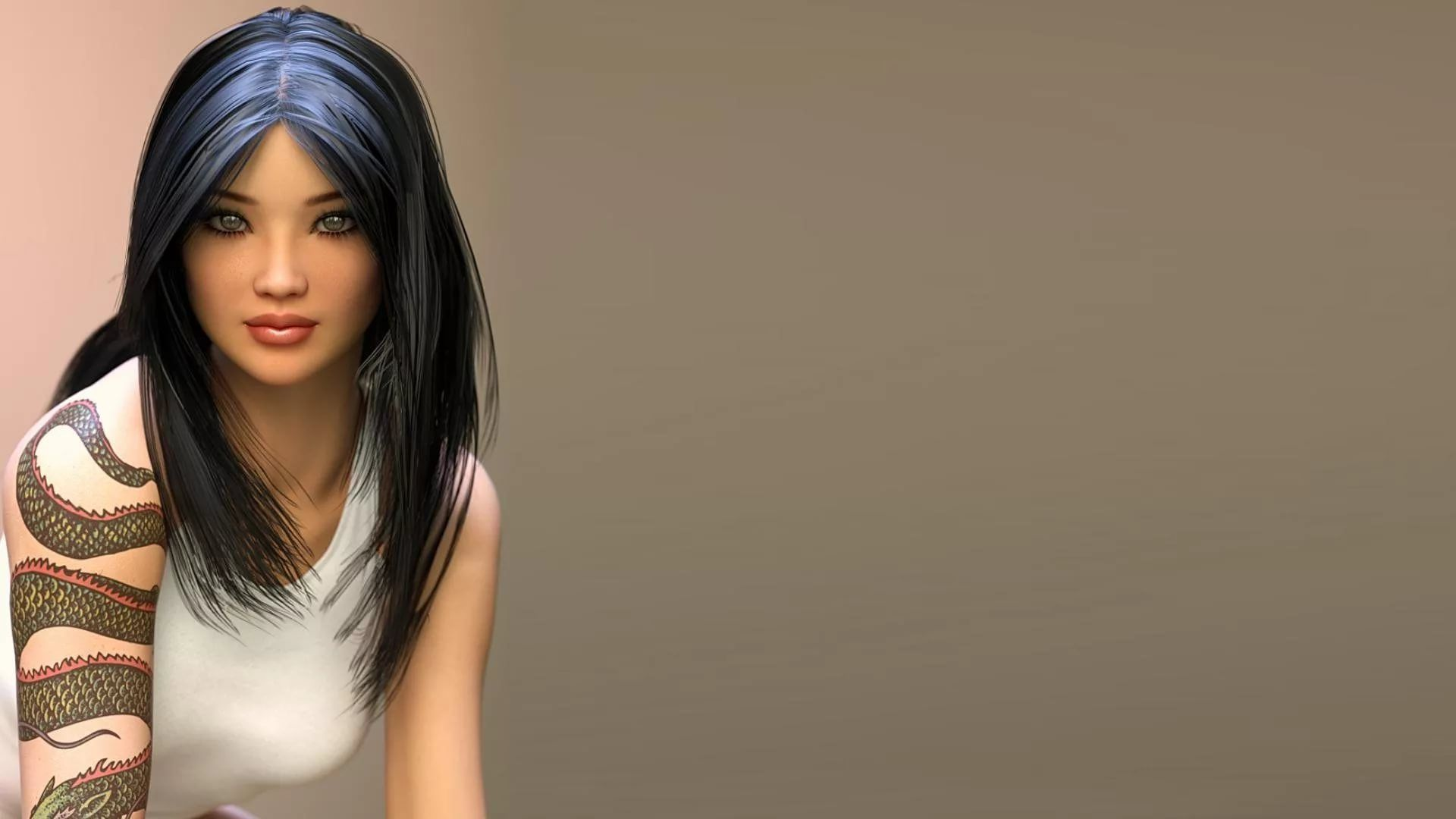 3d Girl Wallpapers 49 Images Wallpaperboat