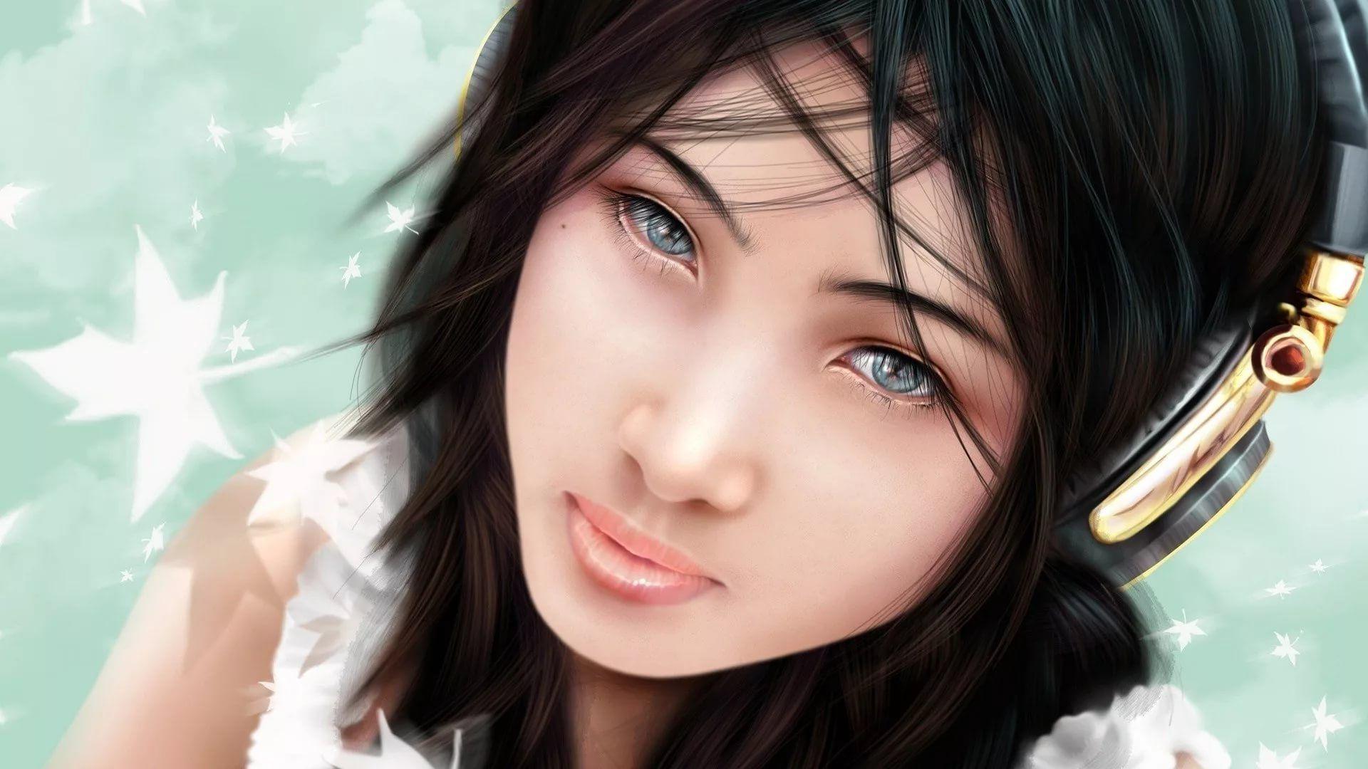 3D Girl pc wallpaper