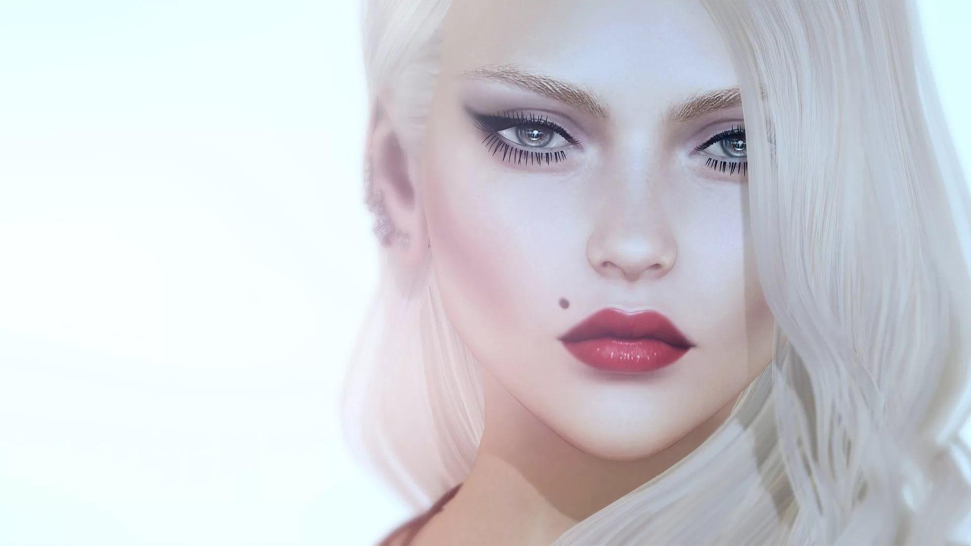 3D Girl wallpaper photo