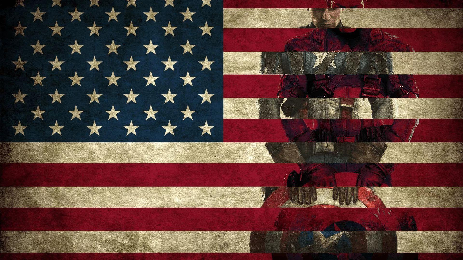 America Flag HD 1080 wallpaper