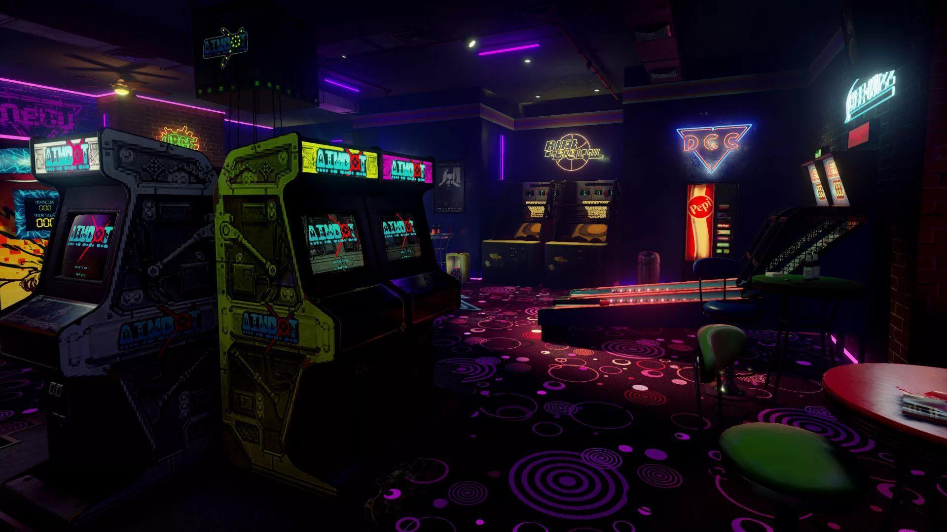 Arcade 1080p Wallpaper