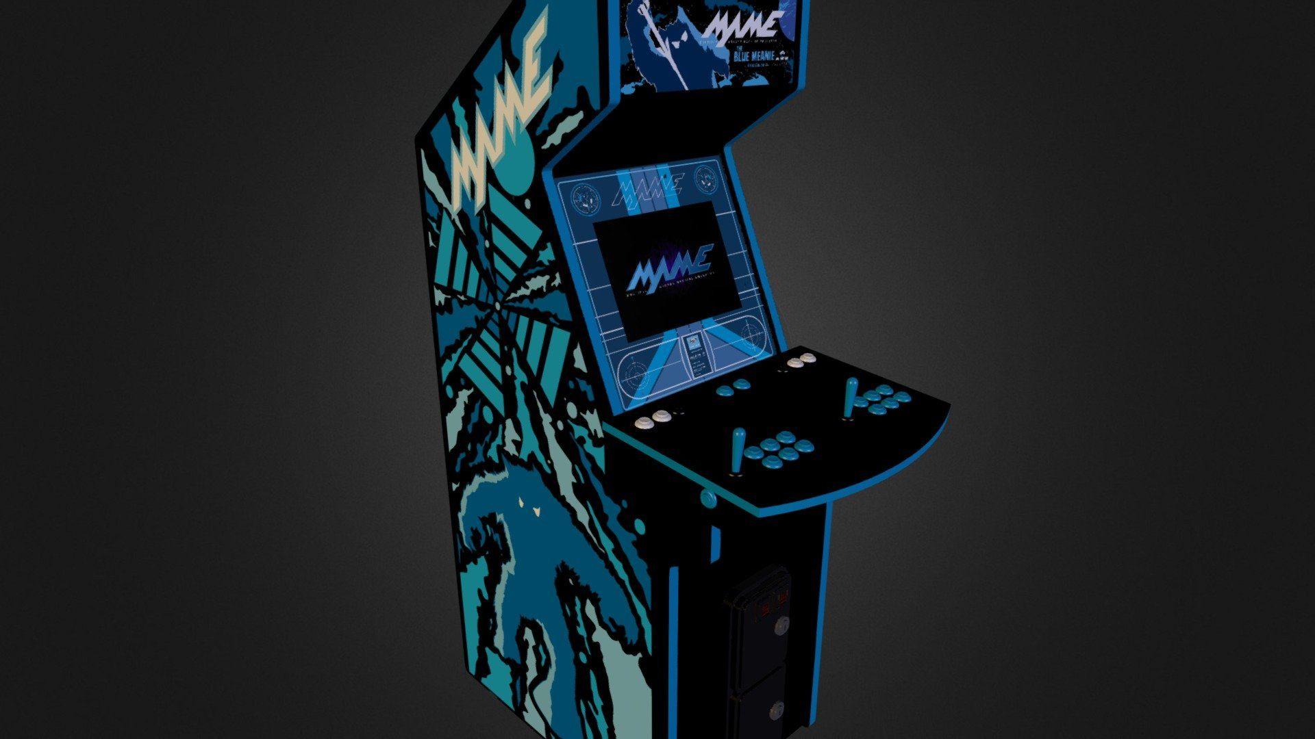 Arcade desktop wallpaper download