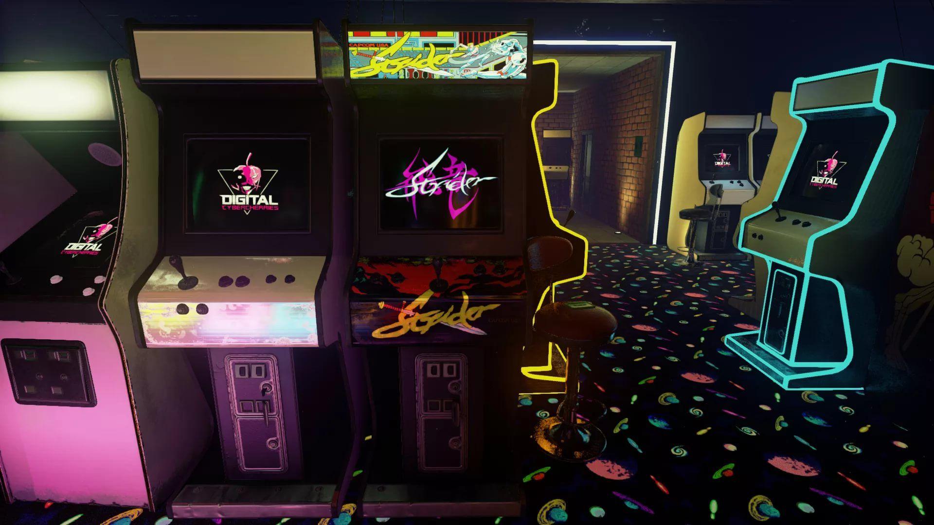 Arcade screen wallpaper