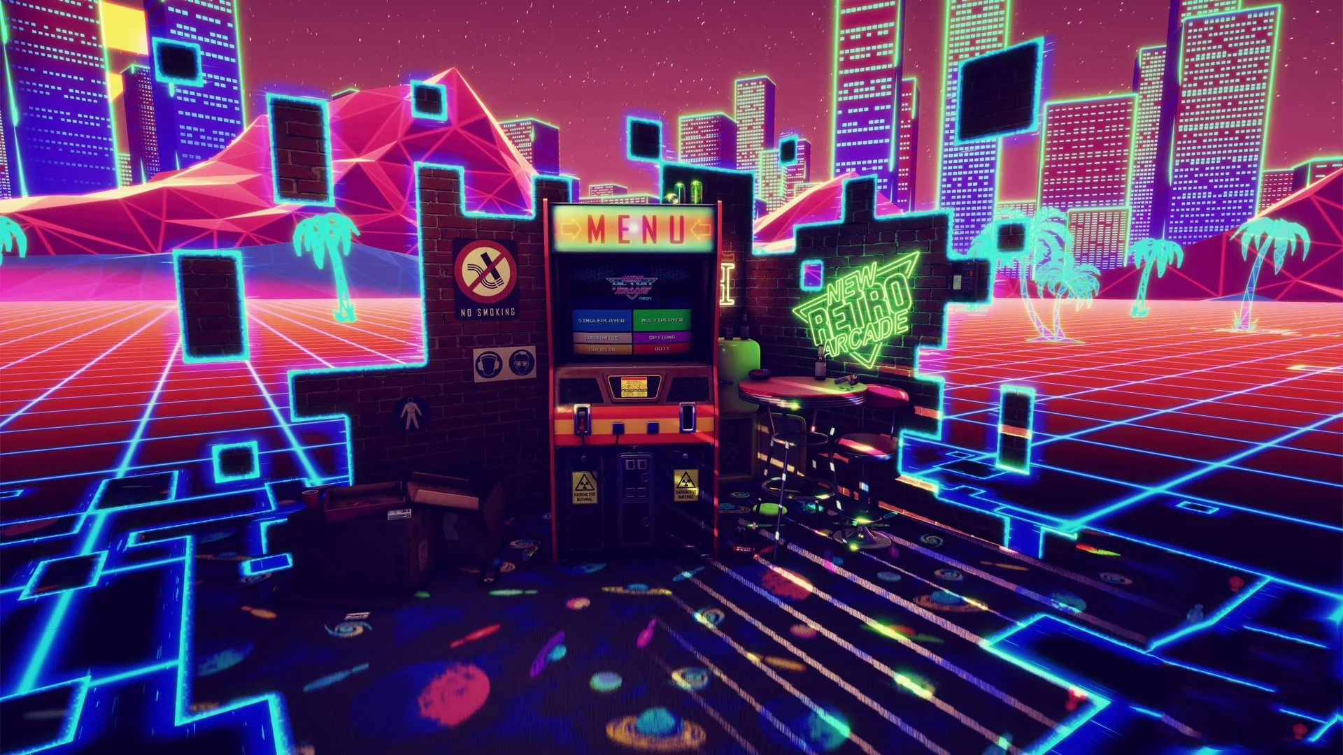 Arcade wallpaper image hd
