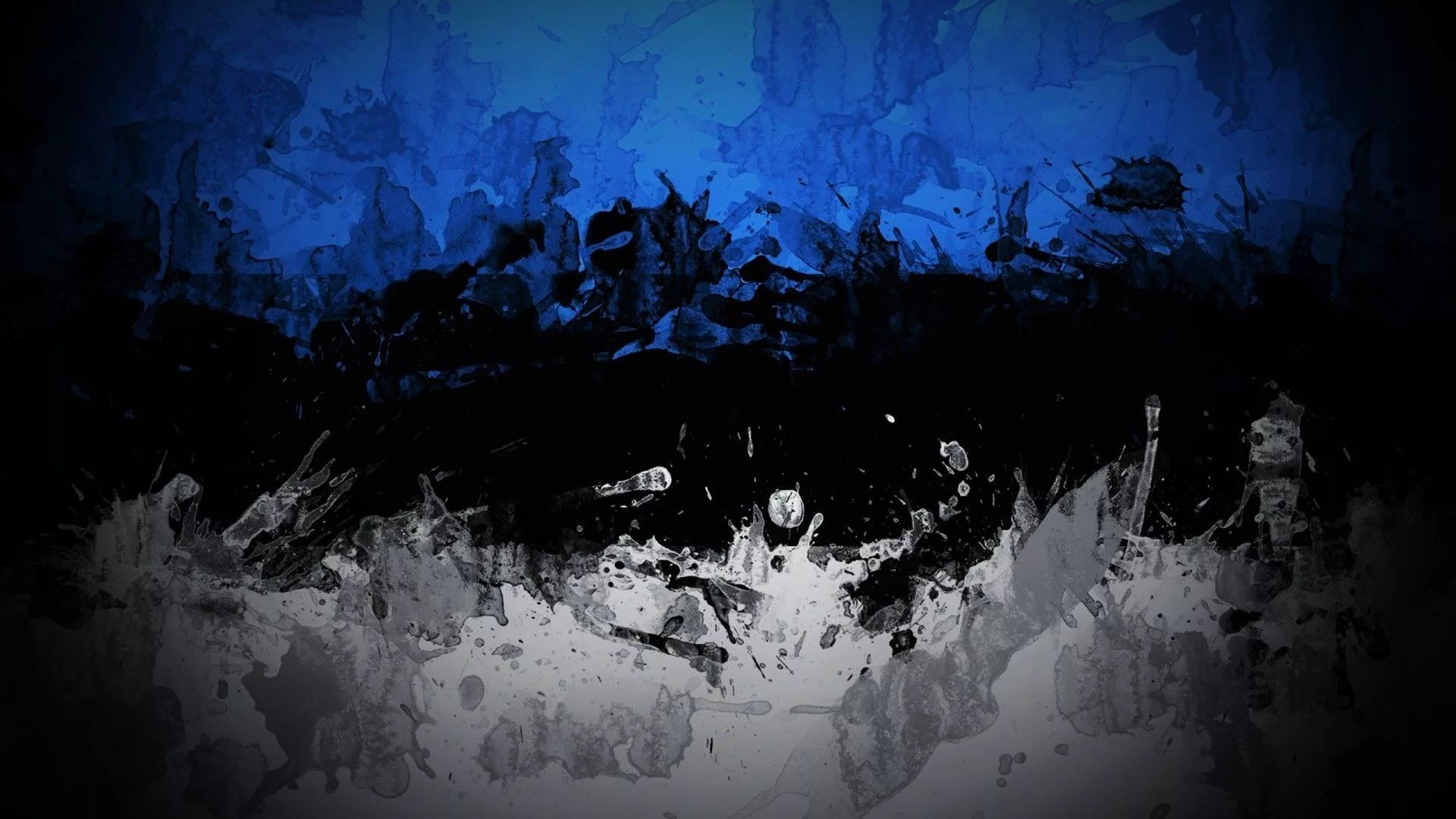 Black And Blue 1920x1080 wallpaper