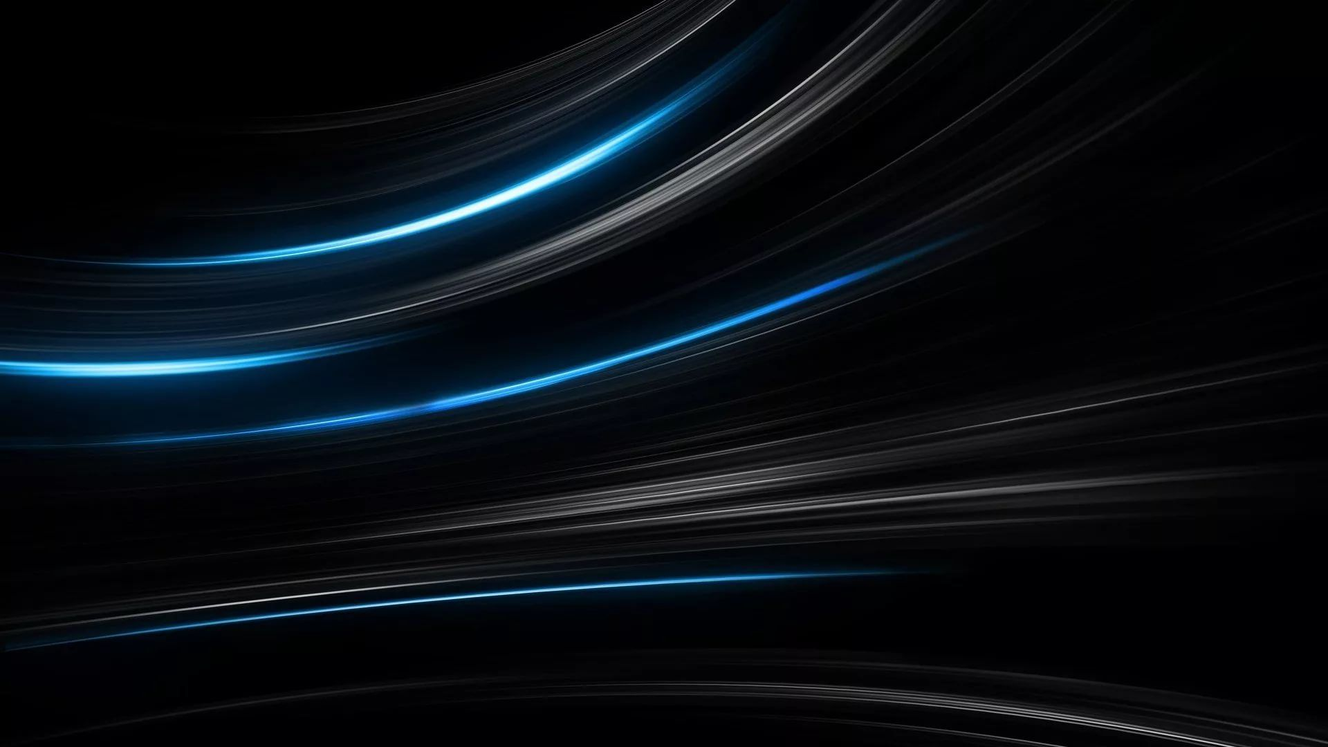 Black And Blue Free Wallpaper