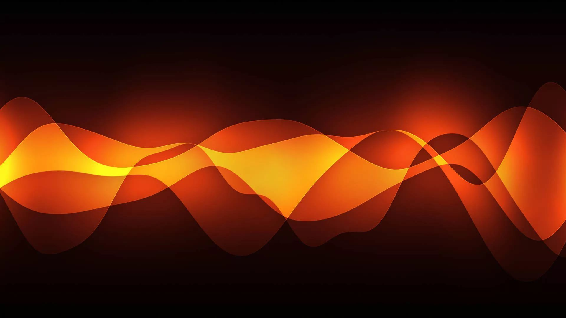 Black And Orange Desktop Wallpaper
